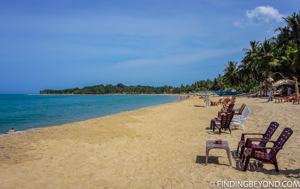 Arugum beach definitely made it on our list of the best beaches in Srti Lanka.