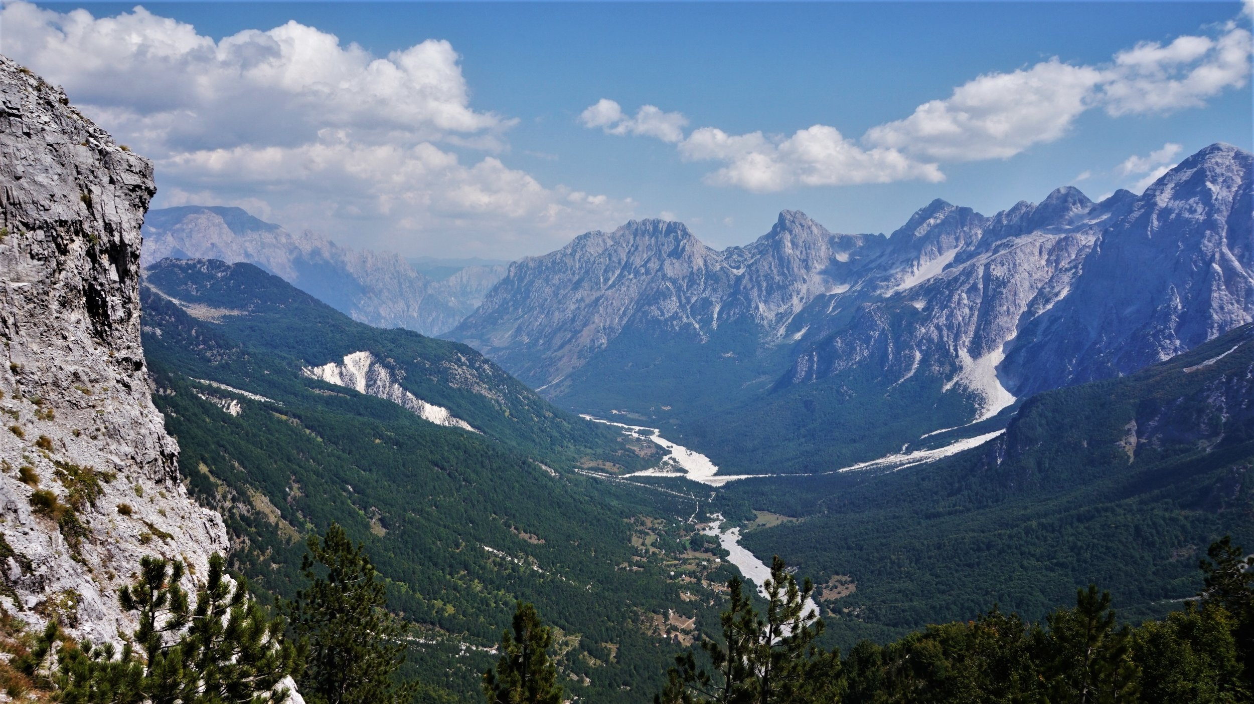 Valbona national park one of the best places to see in Albania