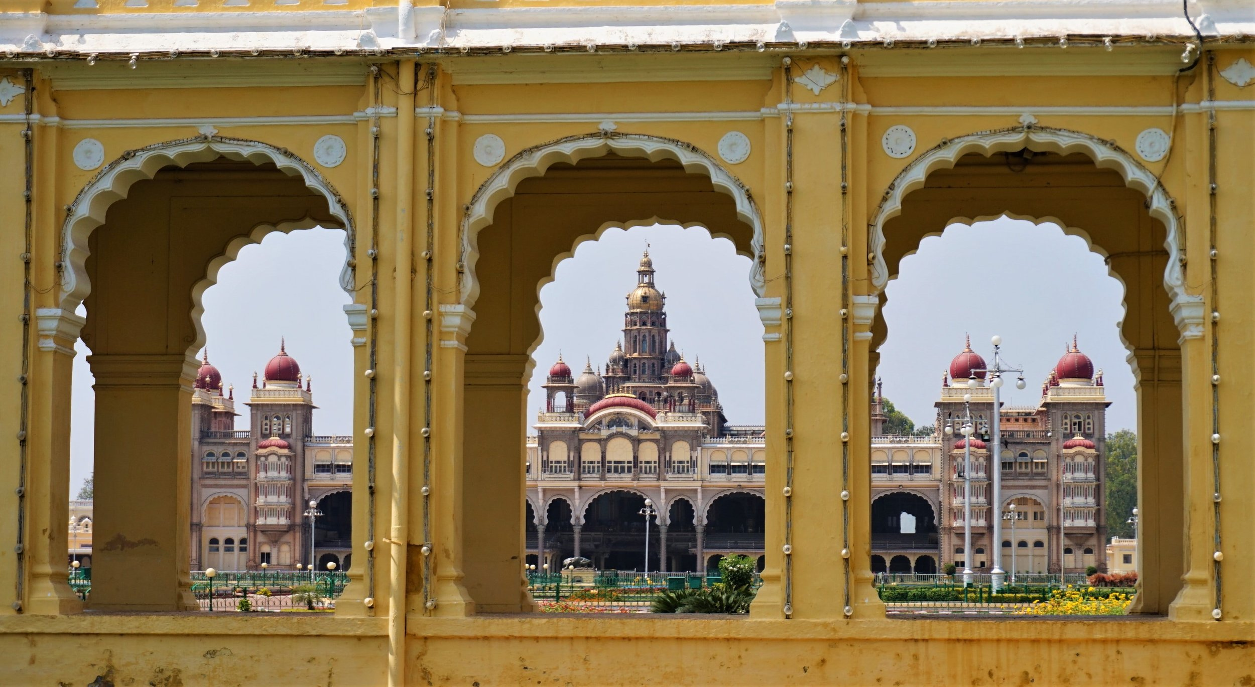 The Mysore Palace is definitely one of the best things to do in Mysore and maybe the most amazing place to visit in Mysore!