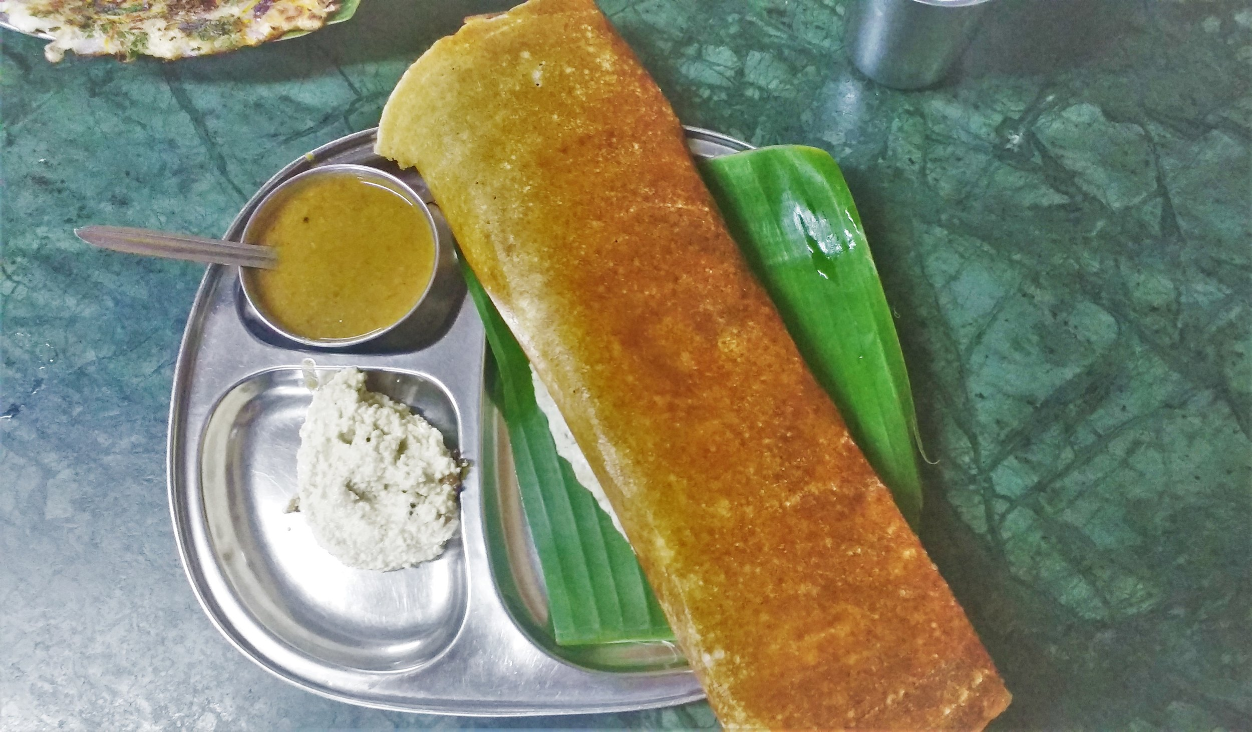 Amazing south Indian food to enjoy in Mysore. There are plenty of places to visit in Mysore to enjoy an amazing Dosa!