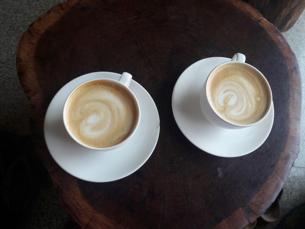 You can enjoy great coffee in Mysore (at least for Indian standards)