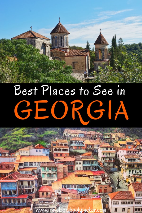 Explore Georgia, Caucasus. A guide to the best places to visit in Georgia so you can plan the perfect Georgia travel itinerary. #georgia #caucasus #travelitinerary #travelgeorgia #visitgerorgia #placestoseeingeorgia #bestplacesgeorgia #tbilisi