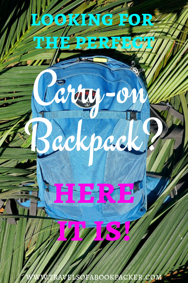Looking for the best carry-on backpack? Have a look at the Osprey Farpoint 40, it has everything you want in a versatile carry-on backpack! #osprey #backpacks #carryon #backpacking #backpackinggear #travel #traveltips #bestbackpacks #travelgear #equipment