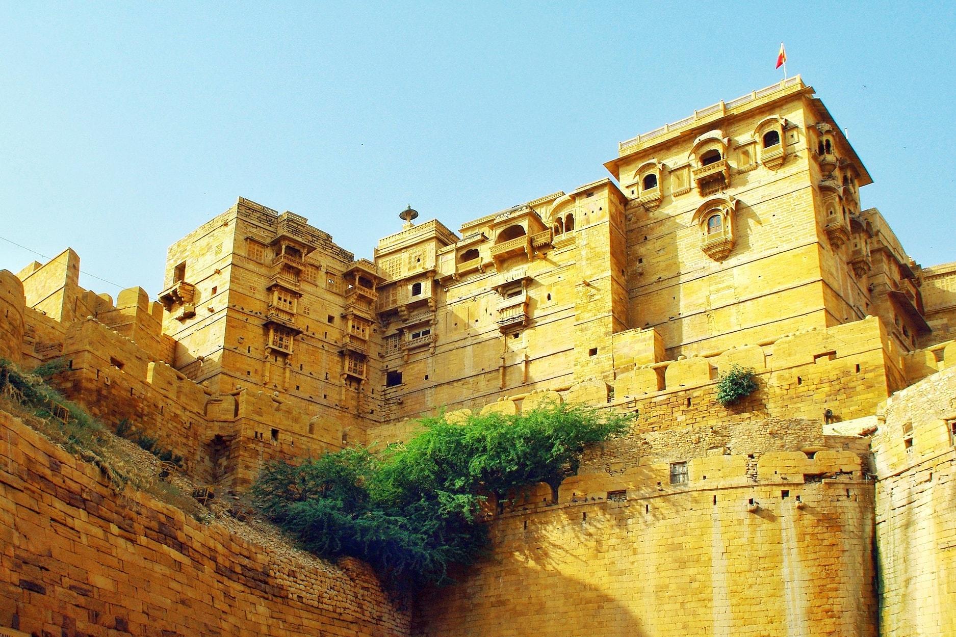The desert own of Jaisalmer.