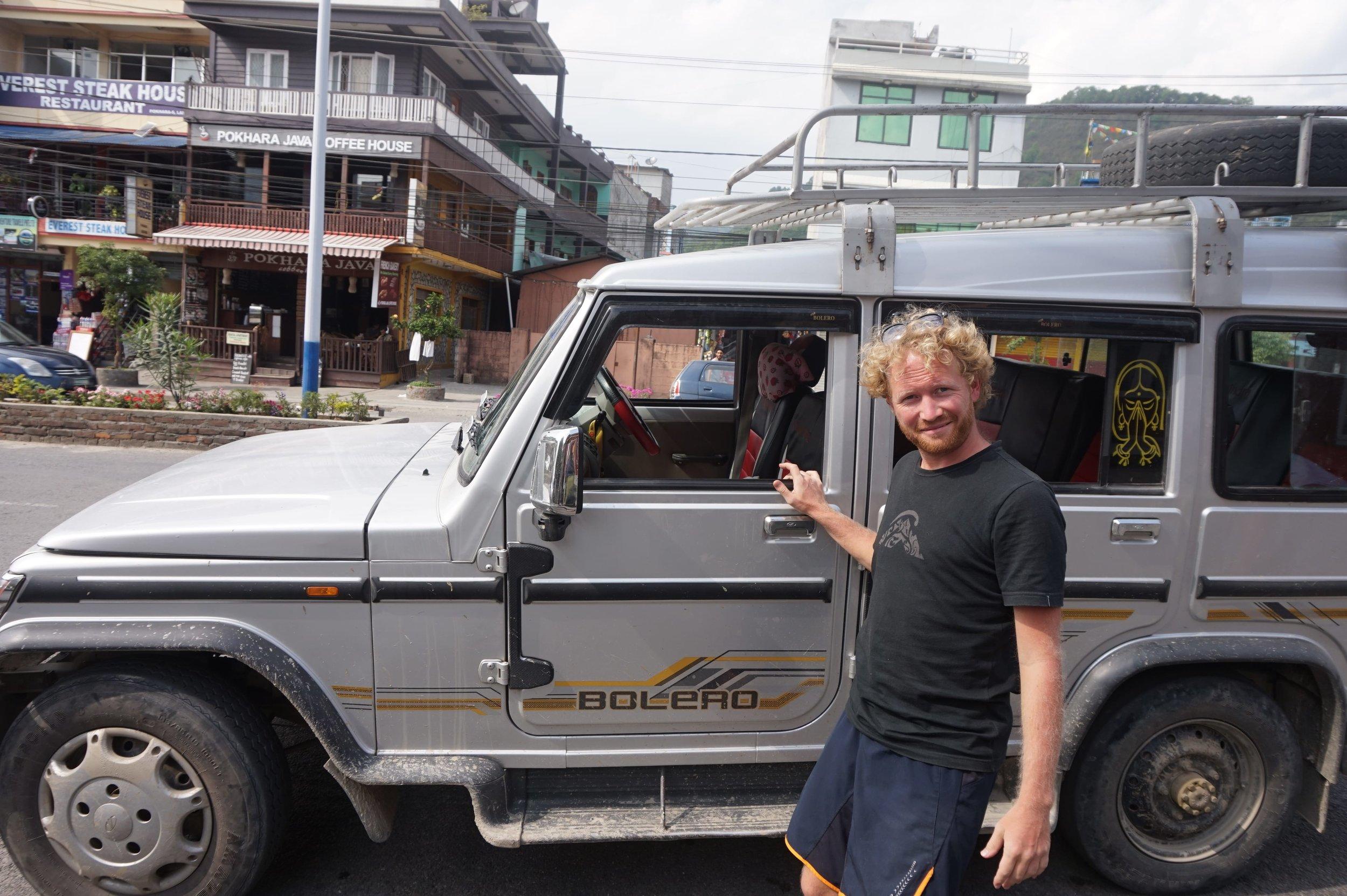 Transport from Pokhara to the beginning of the Annapurna trek