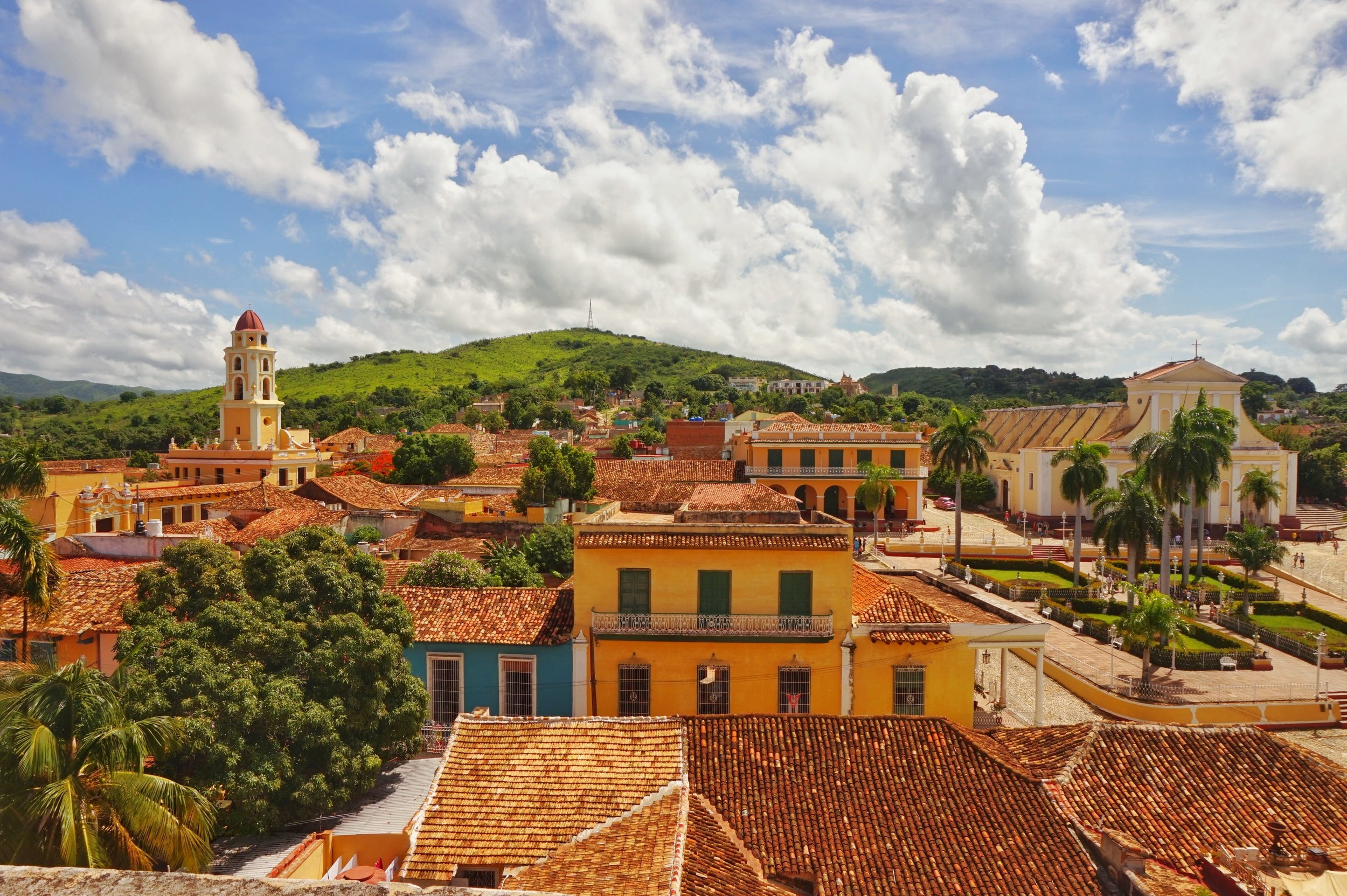 Views over the roofs of Trinidad. One of the best places to see in Cuba!