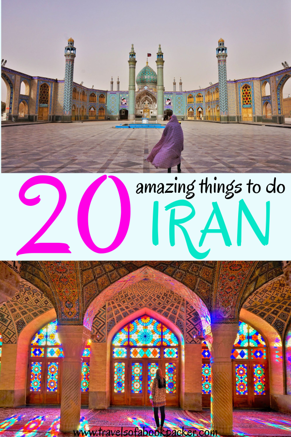 Planning a trip to Iran? Read our list of amazing and unique things to do in Iran to inspire you to travel to Iran. Top attractions, food and local experiences in all areas of Iran. #iran #persia #amazingthingstoseeiran #beautifuliran #traveliran #seeyouiniran