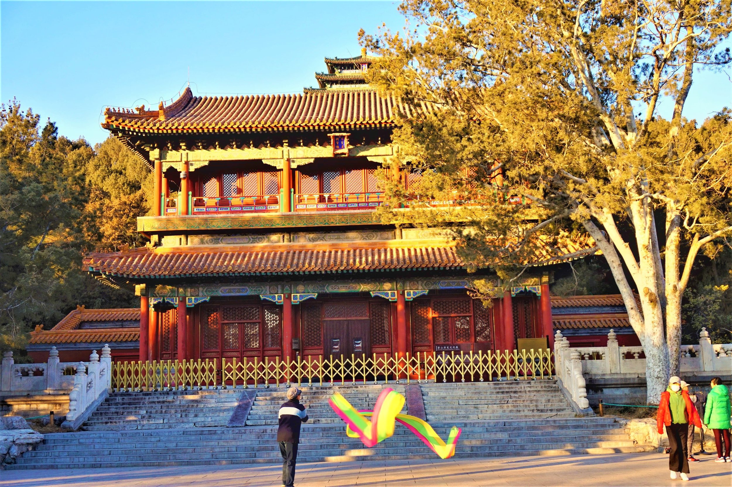 A visit to the Jingshan Park is a must-see during your Beijing layover in China!