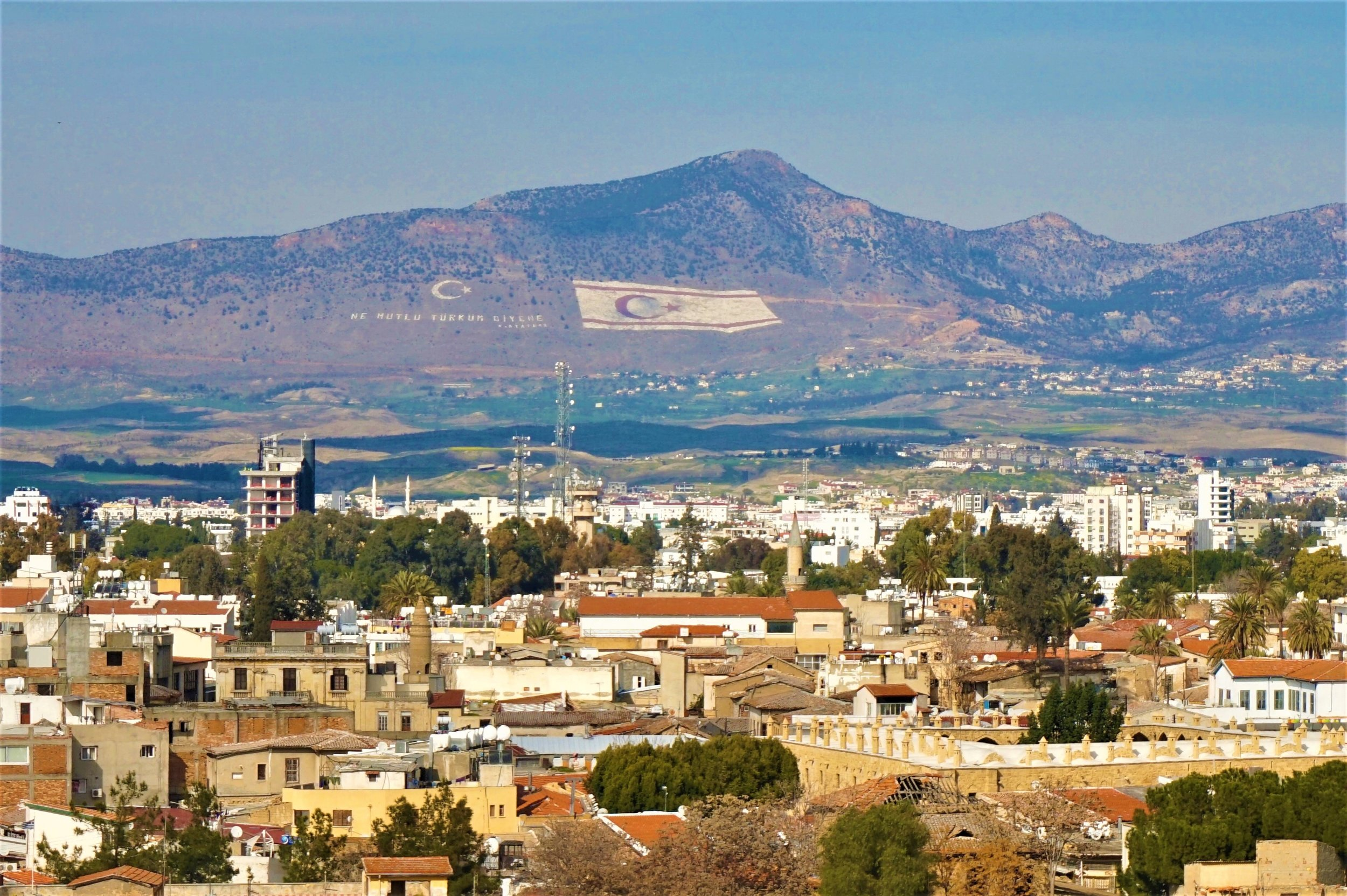 The mountain range in North Cyprus is one of the best places to see in northern Cyprus and should be part of your north Cyprus road trip!
