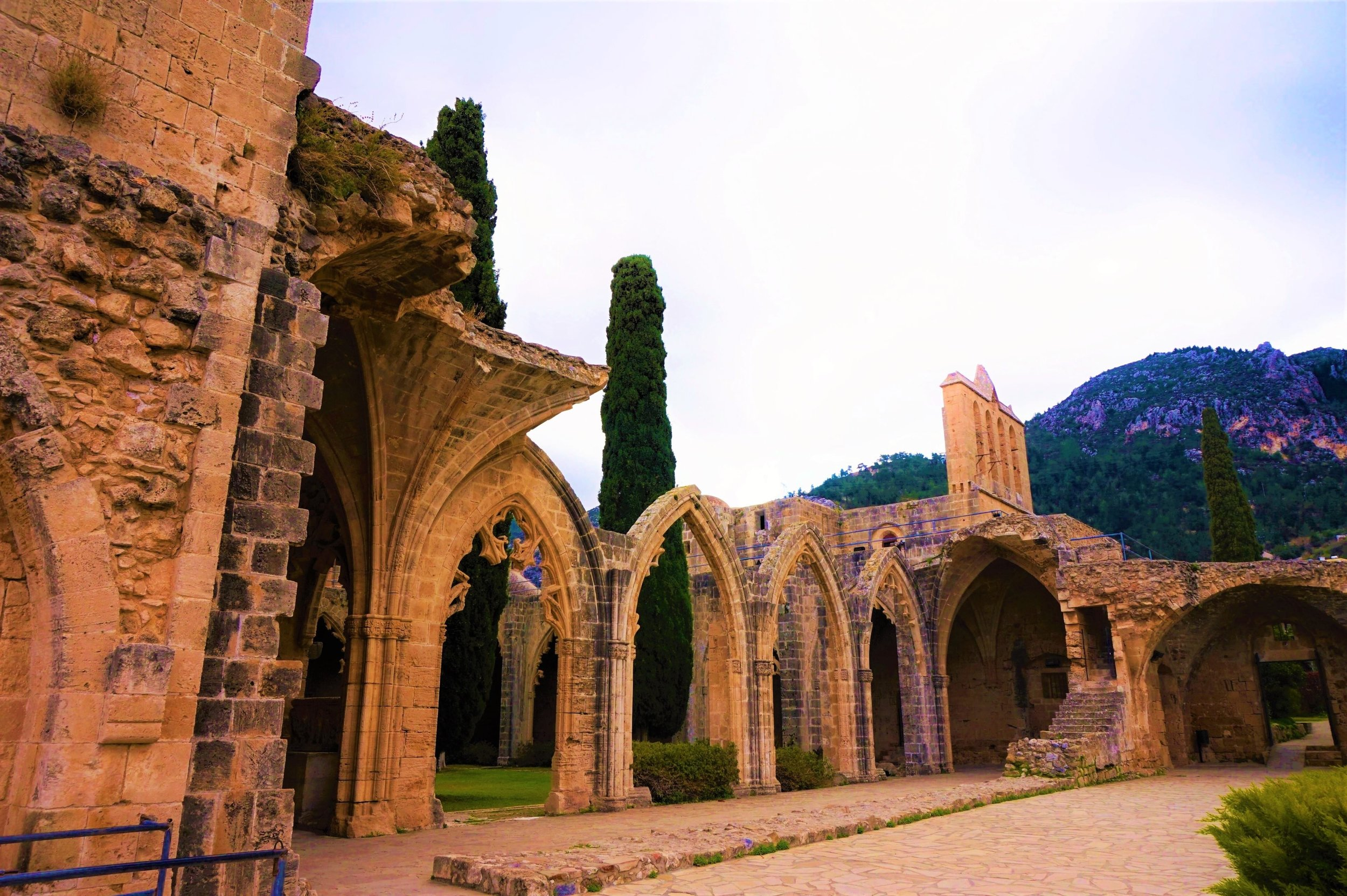 Bellapais monastery is a must visit in northern Cyprus, should be part of your north Cyprus road trip.
