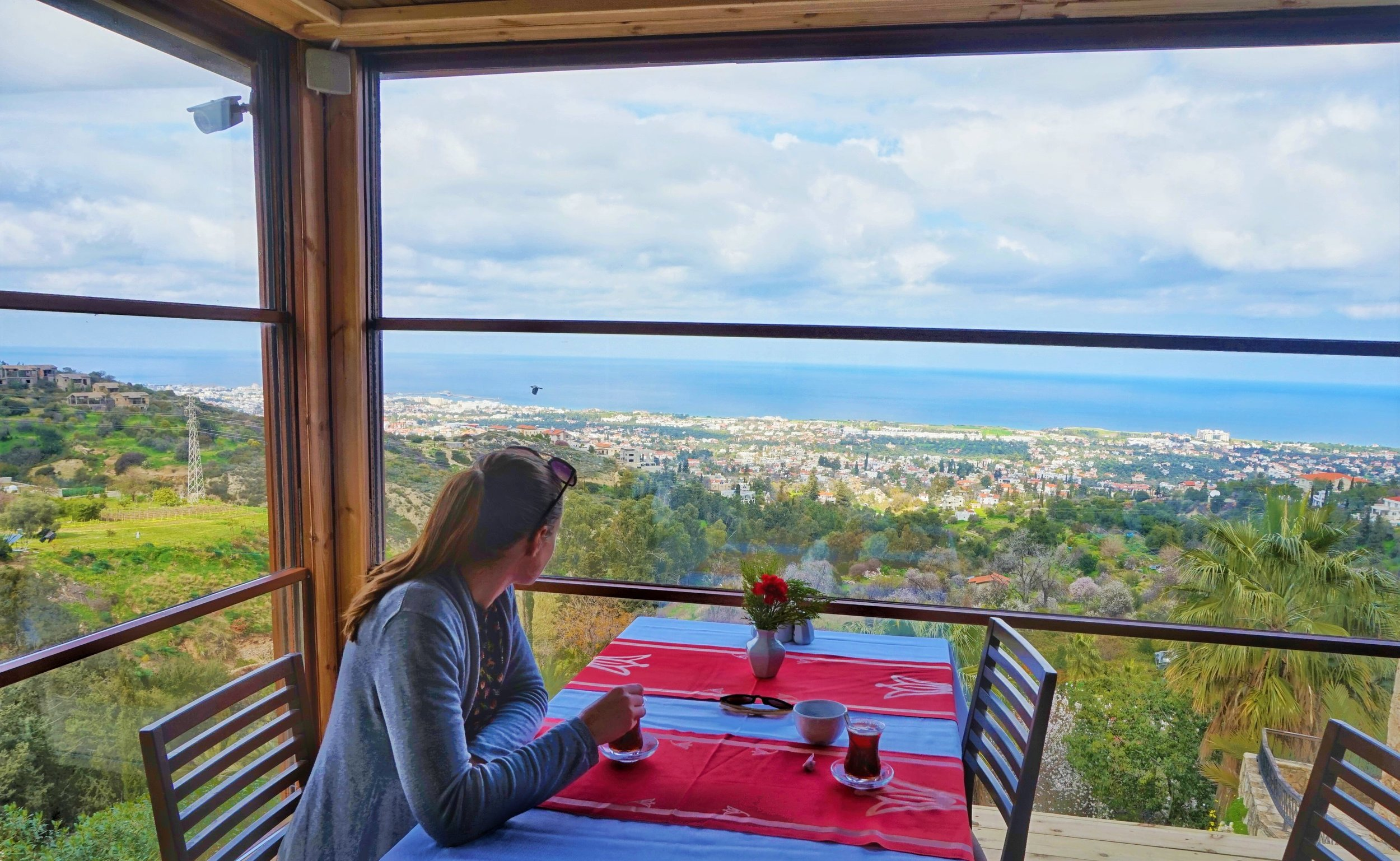 Can't-miss the views over northern Cyprus during your north Cyprus road trip.