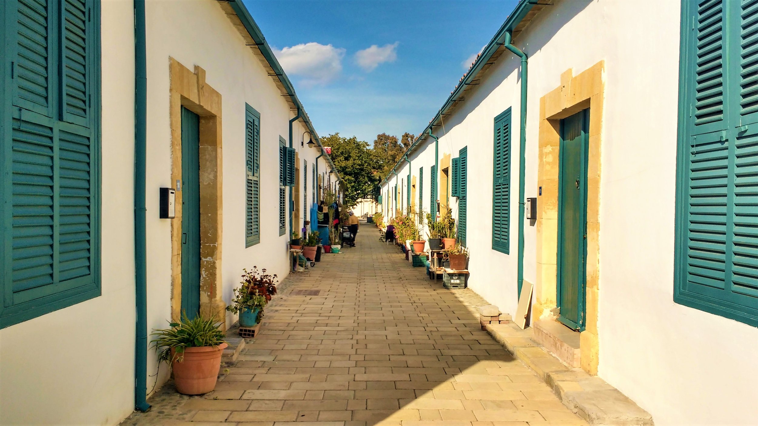 Wander the streets of Nicosia, one of the best things to do in northern Cyprus!