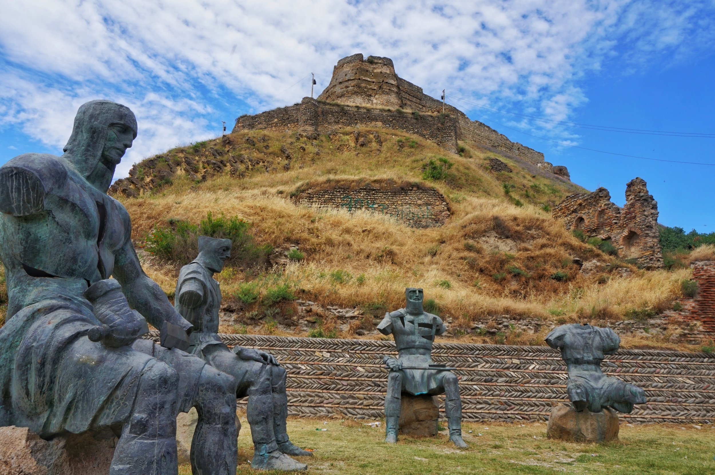 The fortress in Gori is one of the best things to see on a day trip to Gori from Tbilisi