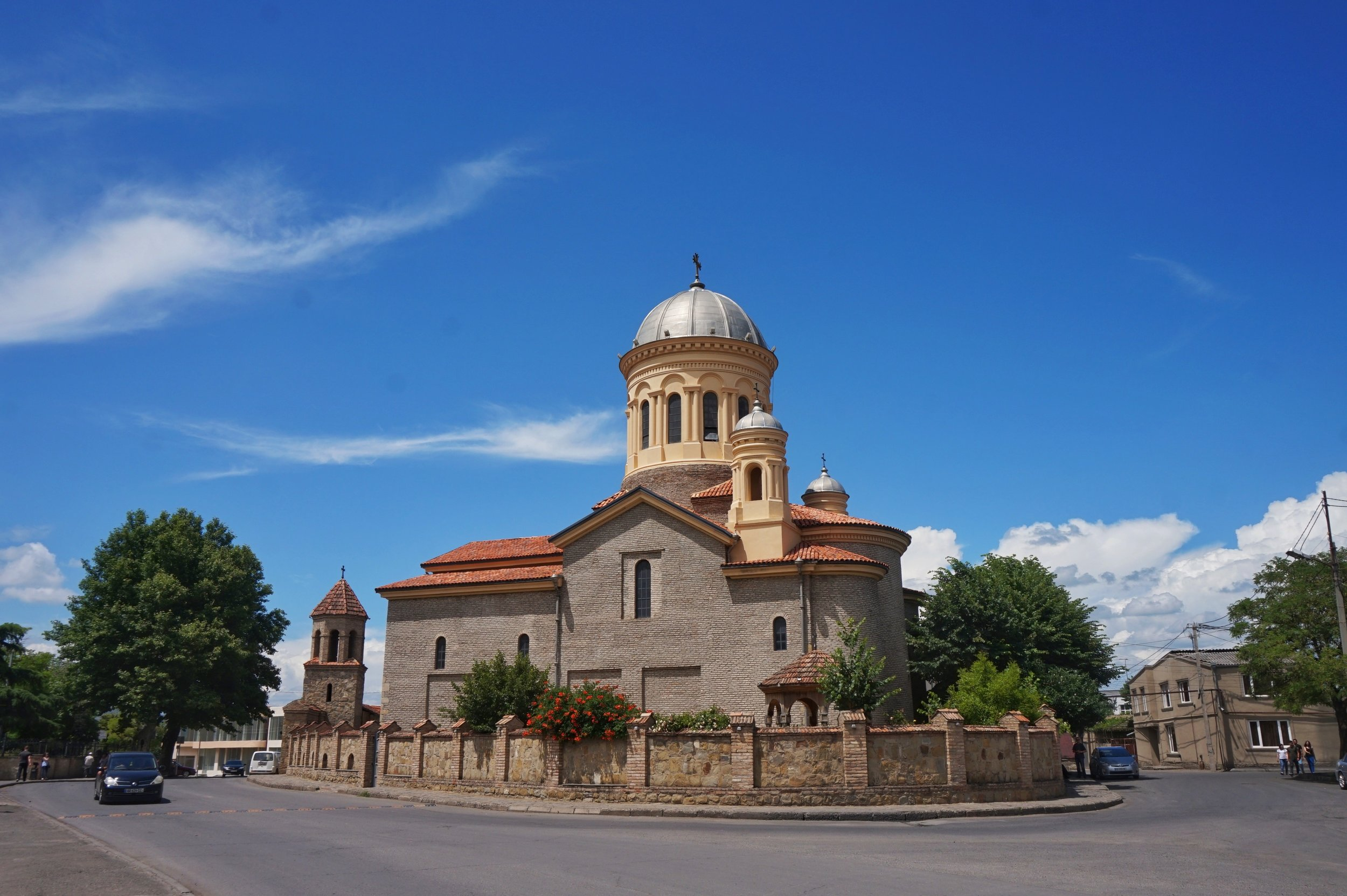 Mary's church is the most impressive church in Gori and worth a visit during your day trip to Gori