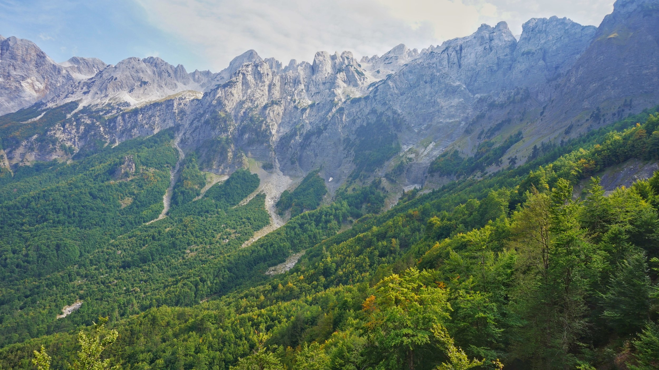 Theth to Valbona is one of the best day hikes in the Balkans.