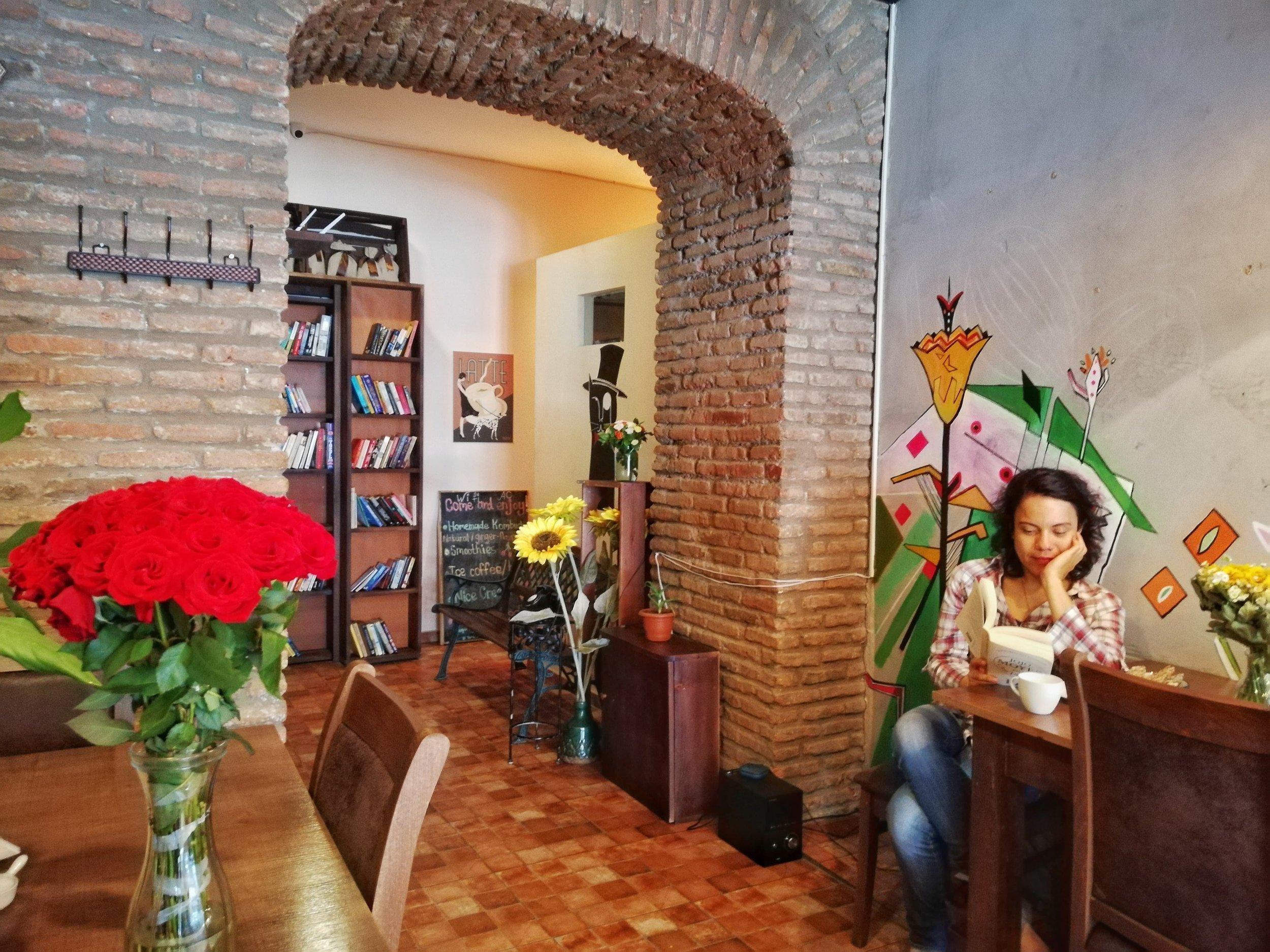 Mama terra cafe tbilisi georgi is a must visit!