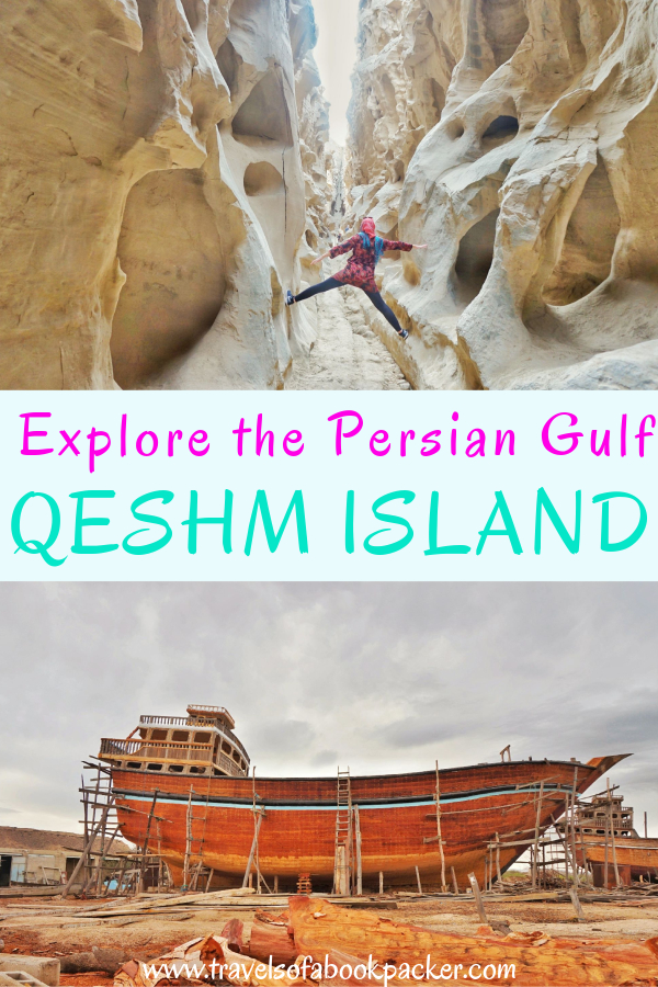 A detailed guide to Qeshm Island, Iran. Including information about things to do on Qeshm Island, accommodation on Qeshm Island, transport around Qeshm Island and how to get to Qeshm from Bandar Abbas and Hormuz Island. #Iran #Persia #Qeshm #Qeshmisland #Middleeast #Travel #seeyouiniran
