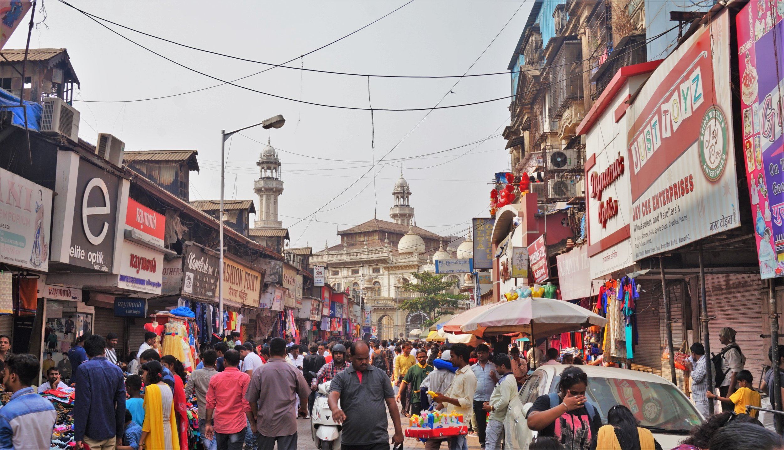 streets of india