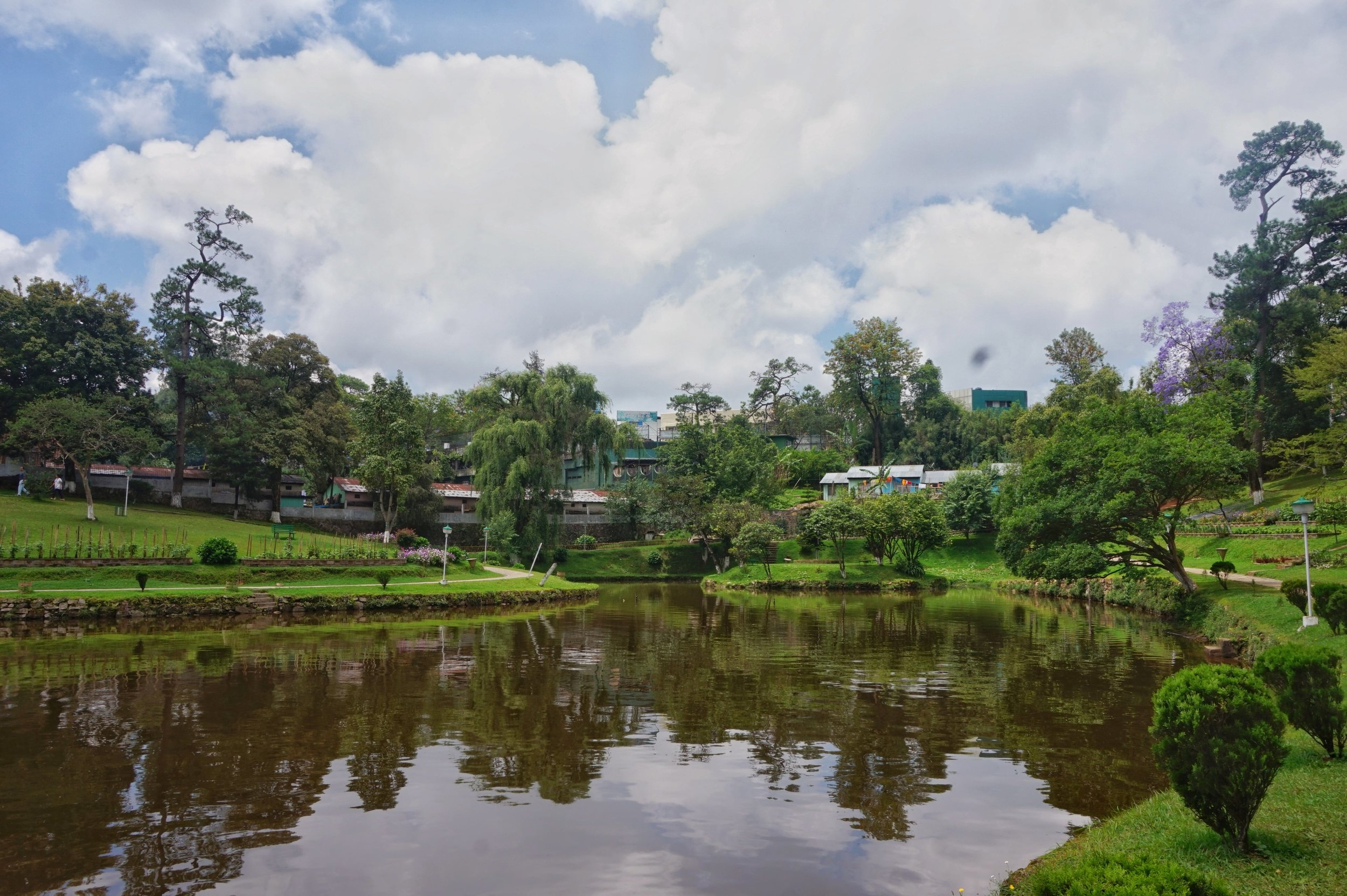 Shillong is a great base with some western comforts while backpacking Meghalaya!