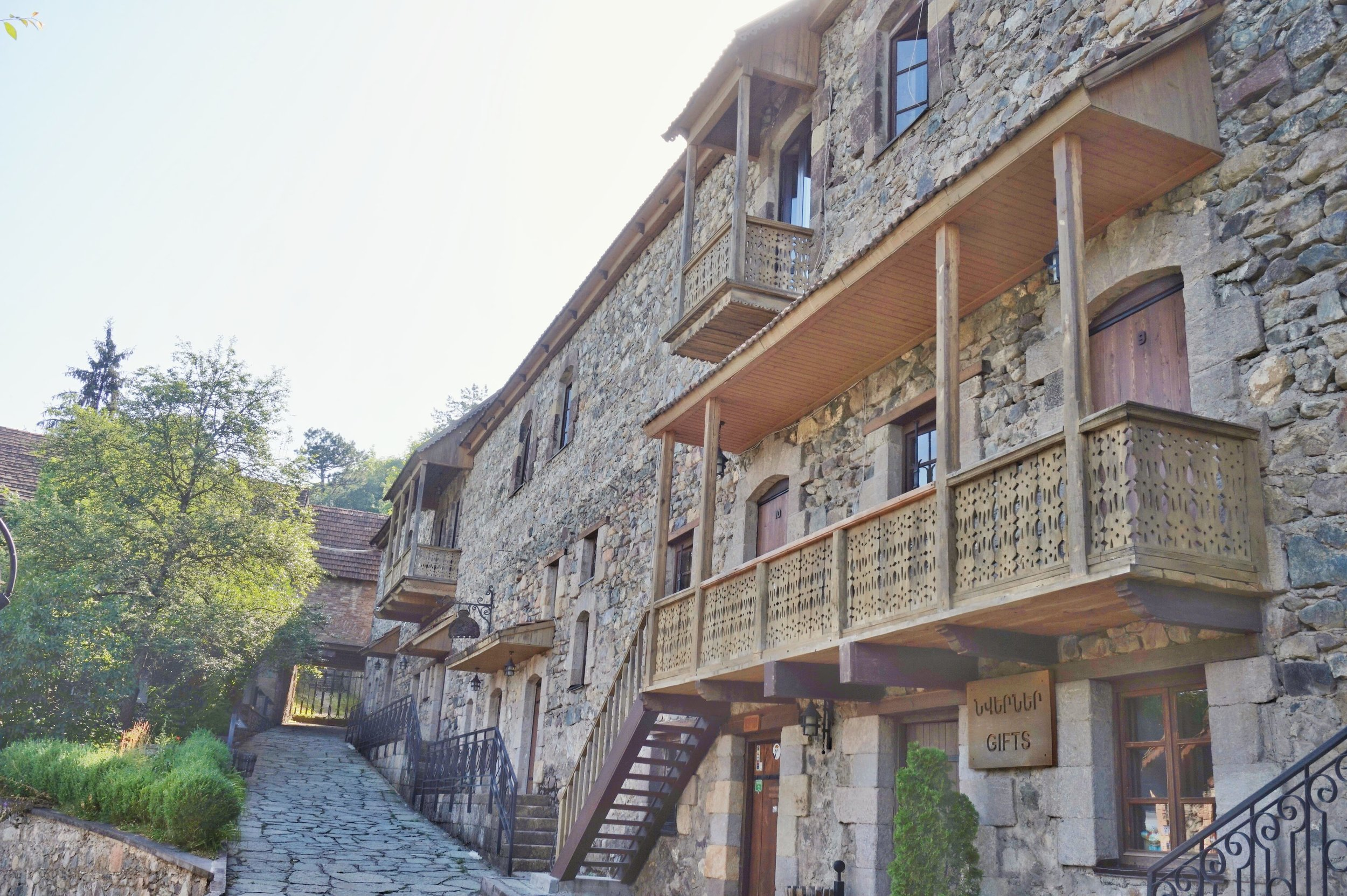 Dilijan can be a stop on your way to Georgia. The old town of Dilijan is one of the best places to see in Armenia.