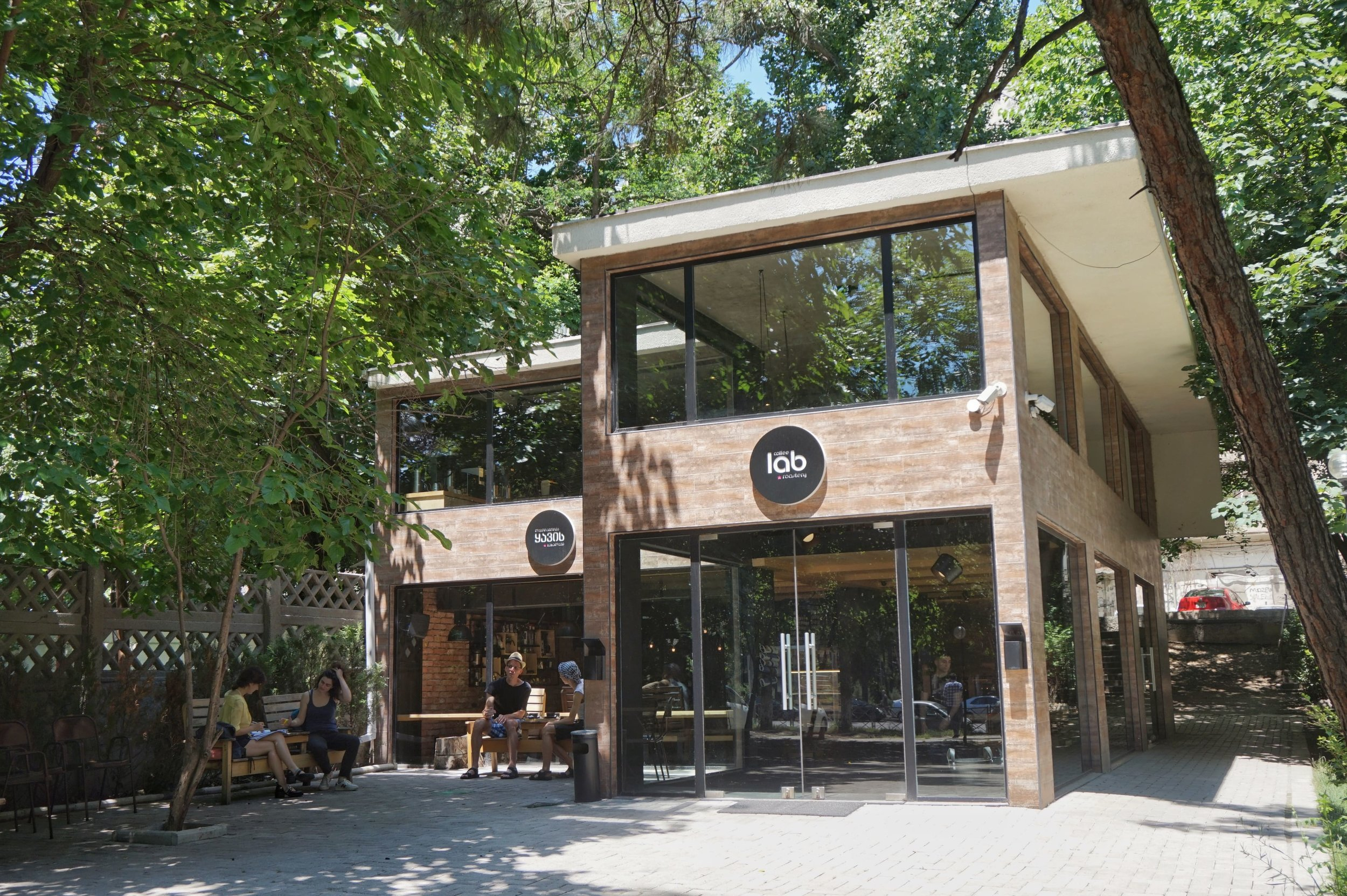 One of the best Cafes in Tbilisi! Coffee Lab has a great range of fantastic coffee!