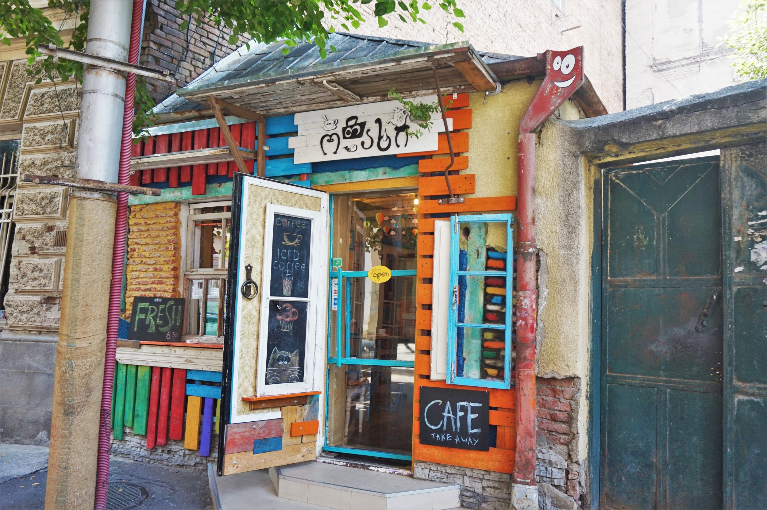 Cafe Otakhi is one of the best Cafes in Tbilisi, very small but stylish place!