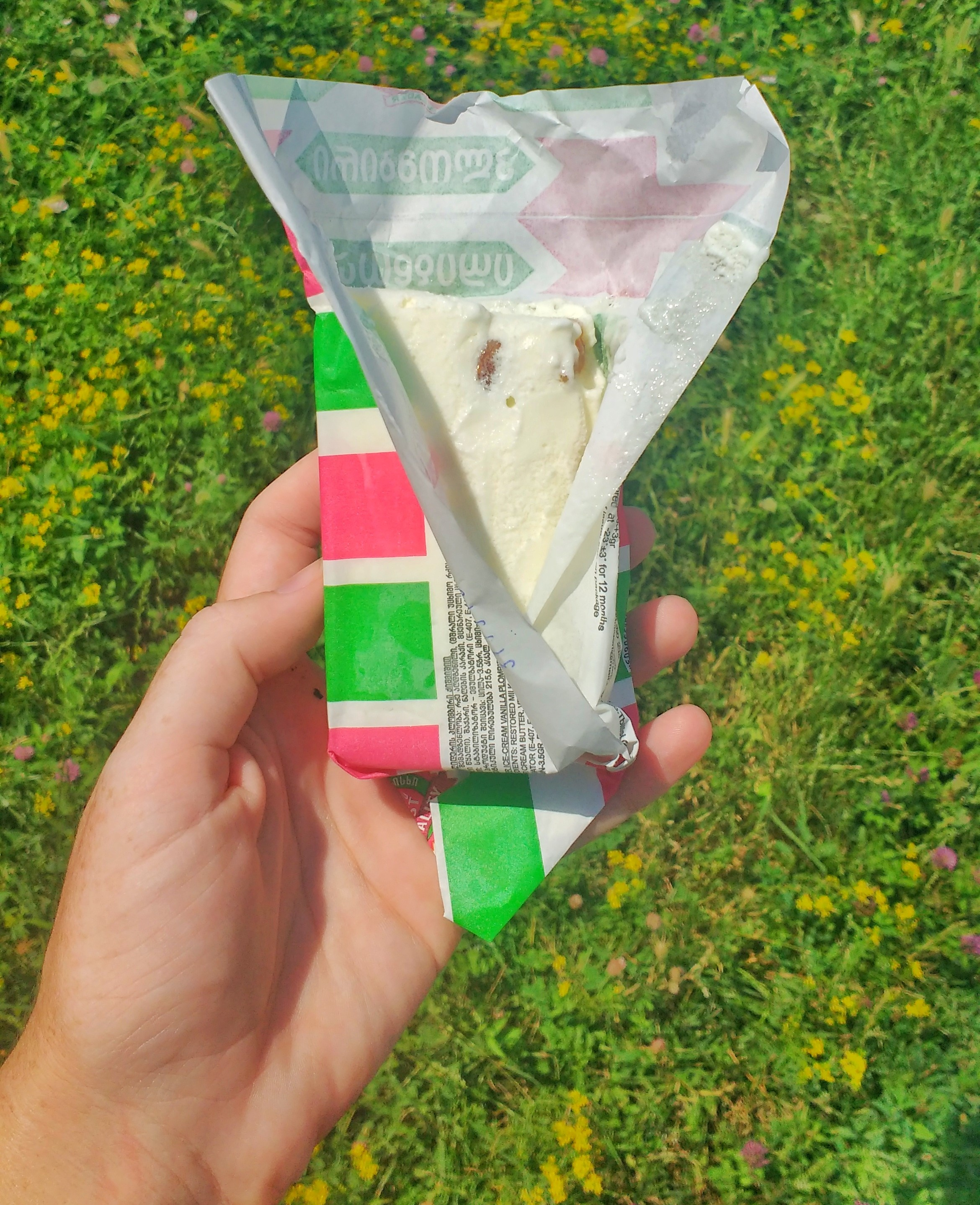 plastic free ice cream
