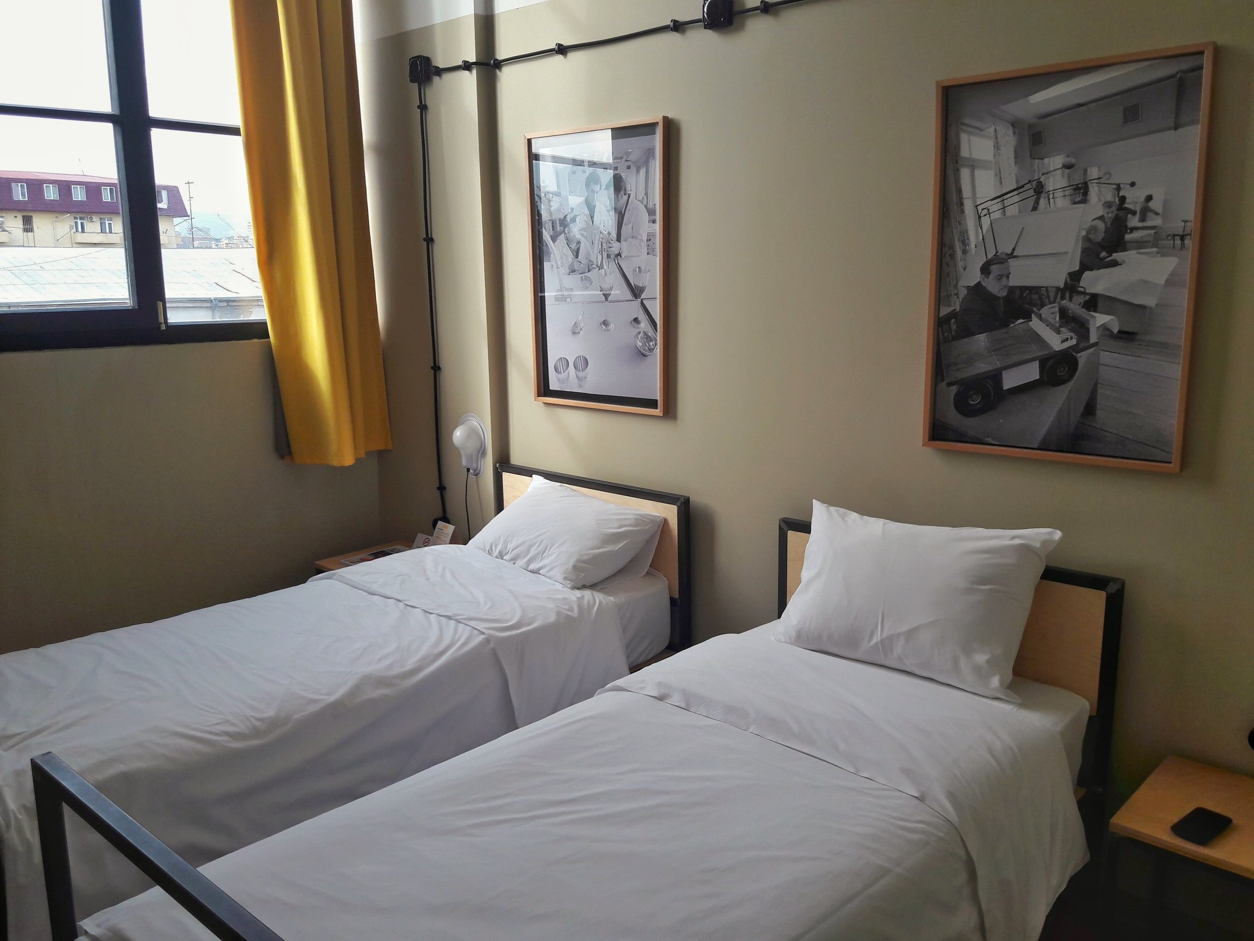 Fabrika is the hippest place to stay in Tbilisi. One of the best places to stay in Tbilisi.