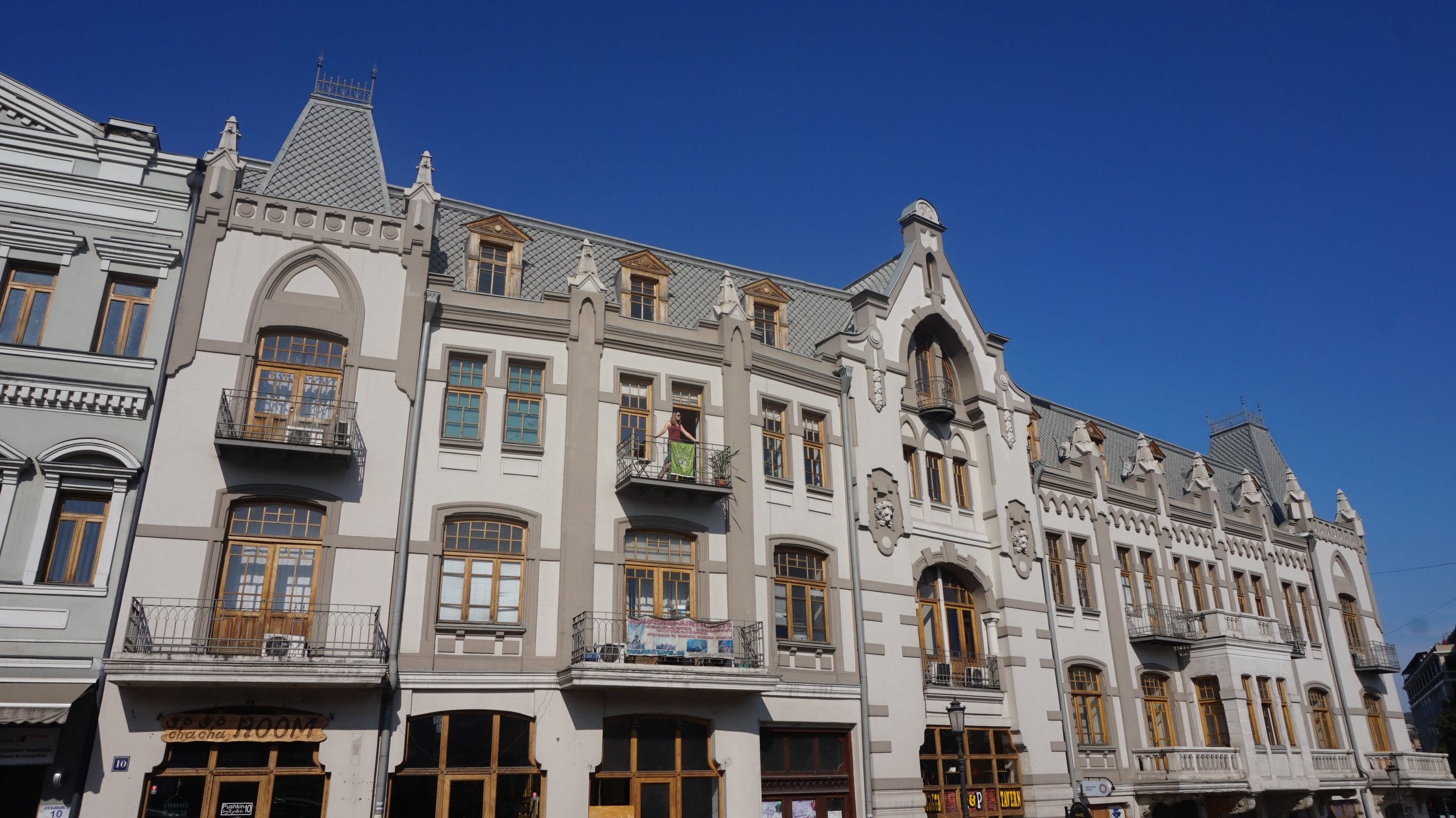 Pushkin 10 is one of the best hostels in Tbilisi. Best accommodation in Tbilisi.
