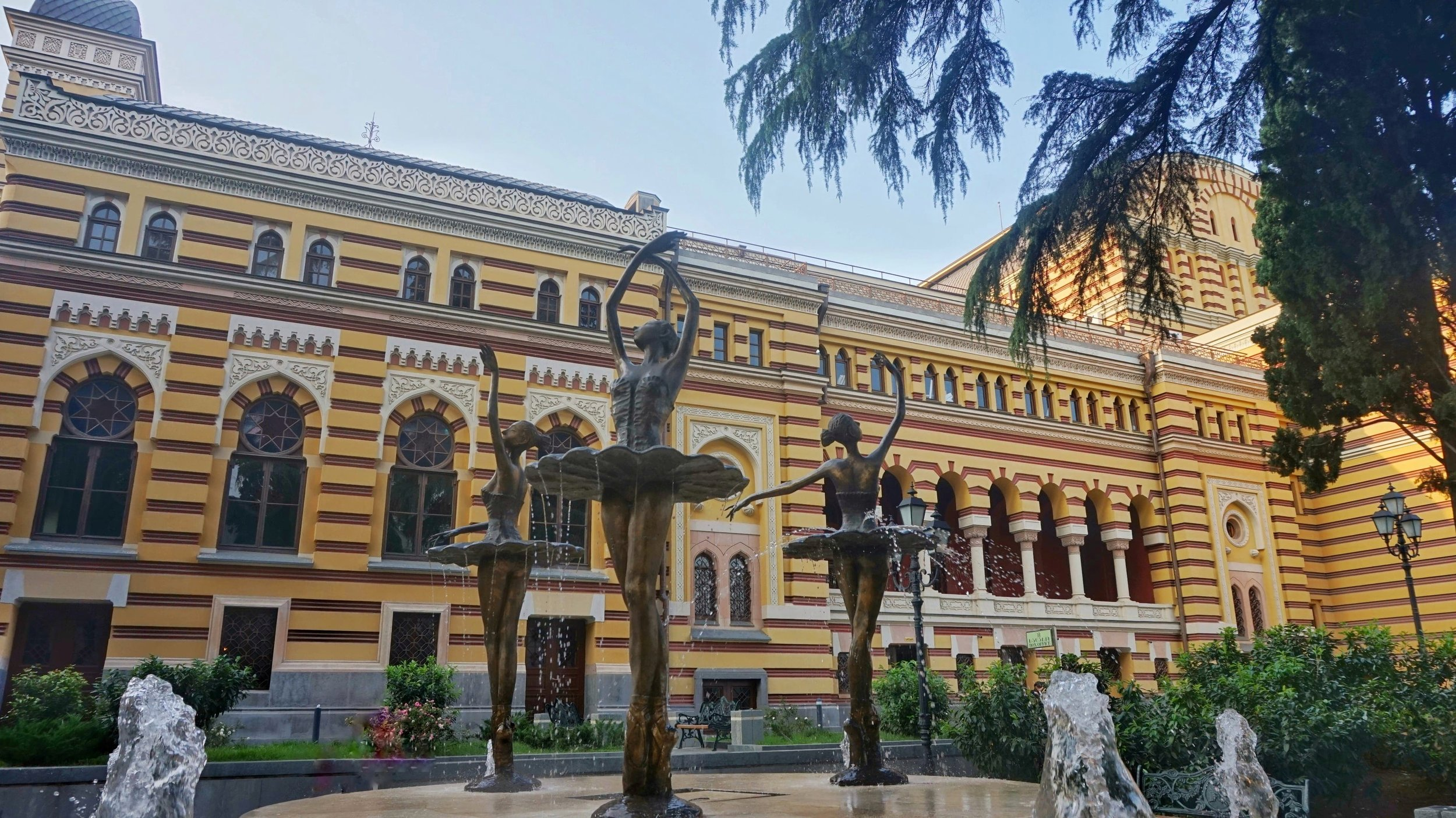 Rustaveli avenue is one of the best places to stay in Tbilisi. Very central and close to a lot very good restaurants and attractions in Tbilisi, with the best hotels to stay in Tbilisi.