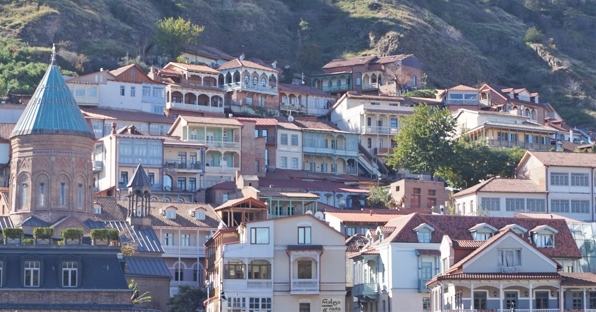 Tbilisi old town is one of the best places to stay in Tbilisi. There are many hotels and the best hostels to stay in Tbilisi.