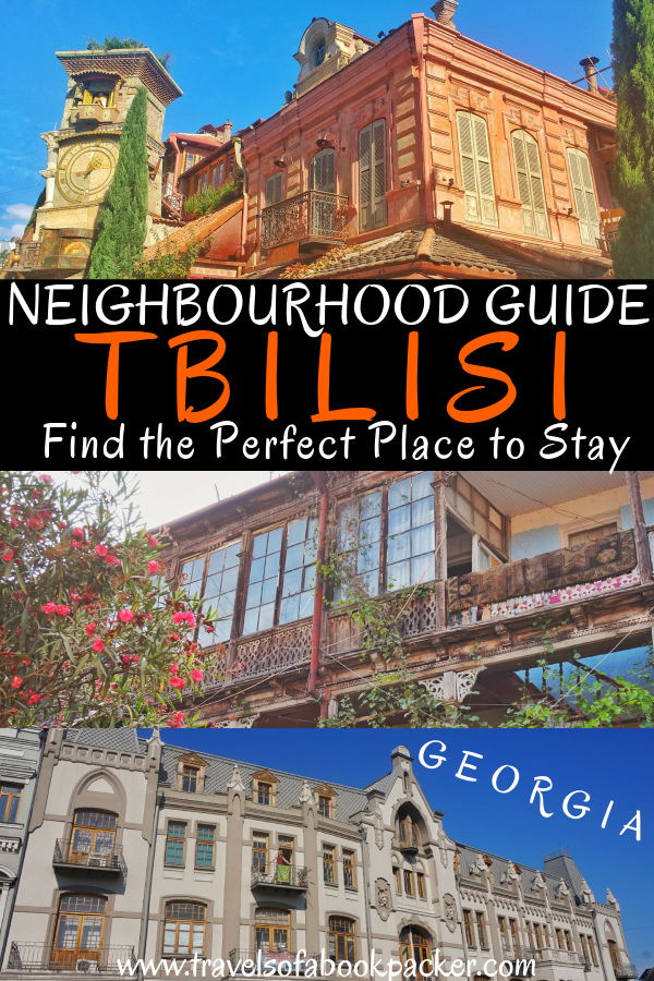 Read our overview of the best areas to stay in Tbilisi and information about the best hotels and hostels in Tbilisi, Georgia. #Tbilisi #Georgia #hoteltbilisi #hosteltbilisi #tbilisiaccommodation #placestostayintbilisi #travel #neighbourhoodguide #neighbourhoodtbilisi #perfectaccommodation