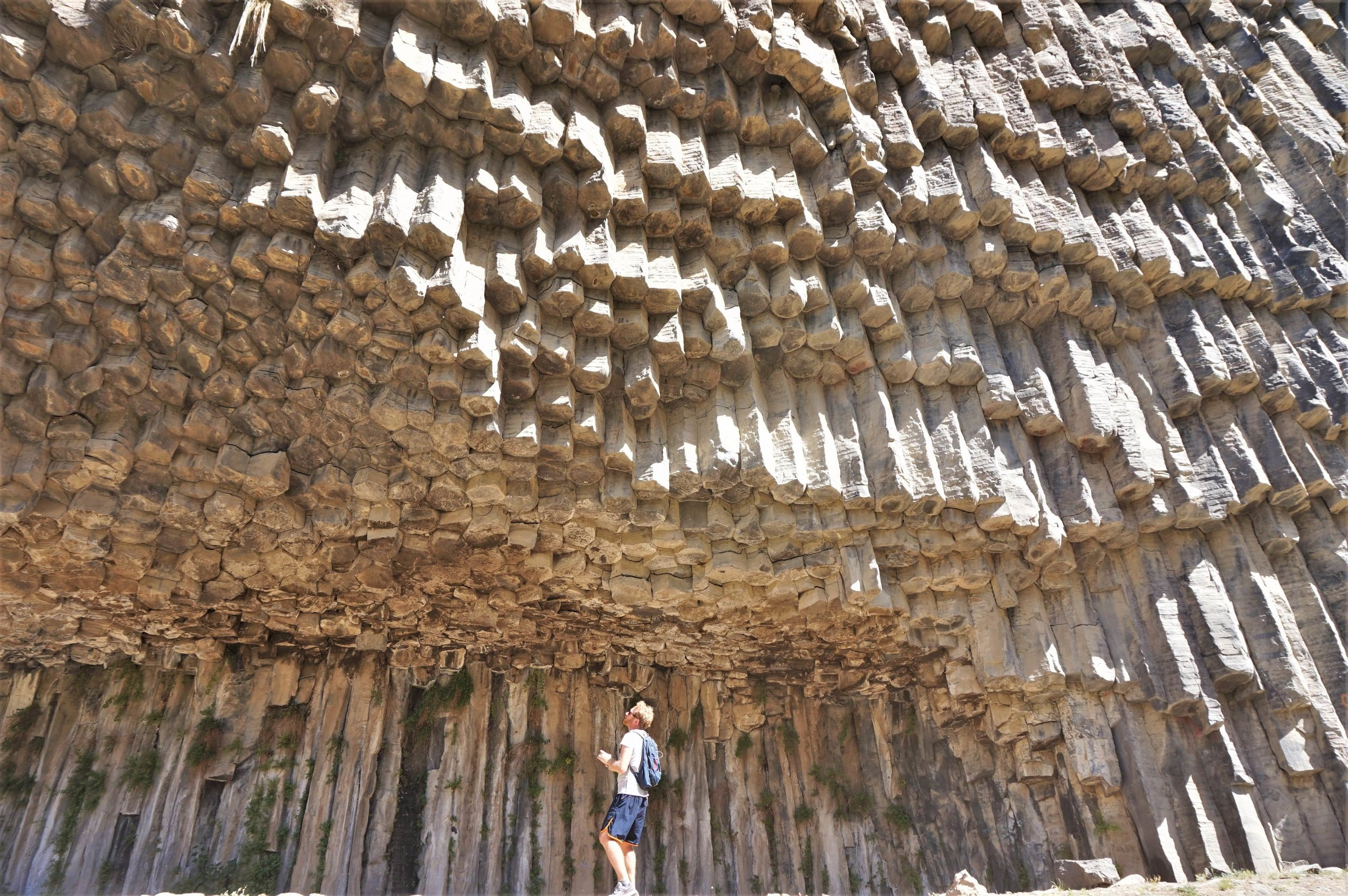 Don't miss the Symphony of Stones near Garni on your visit to Armenia.