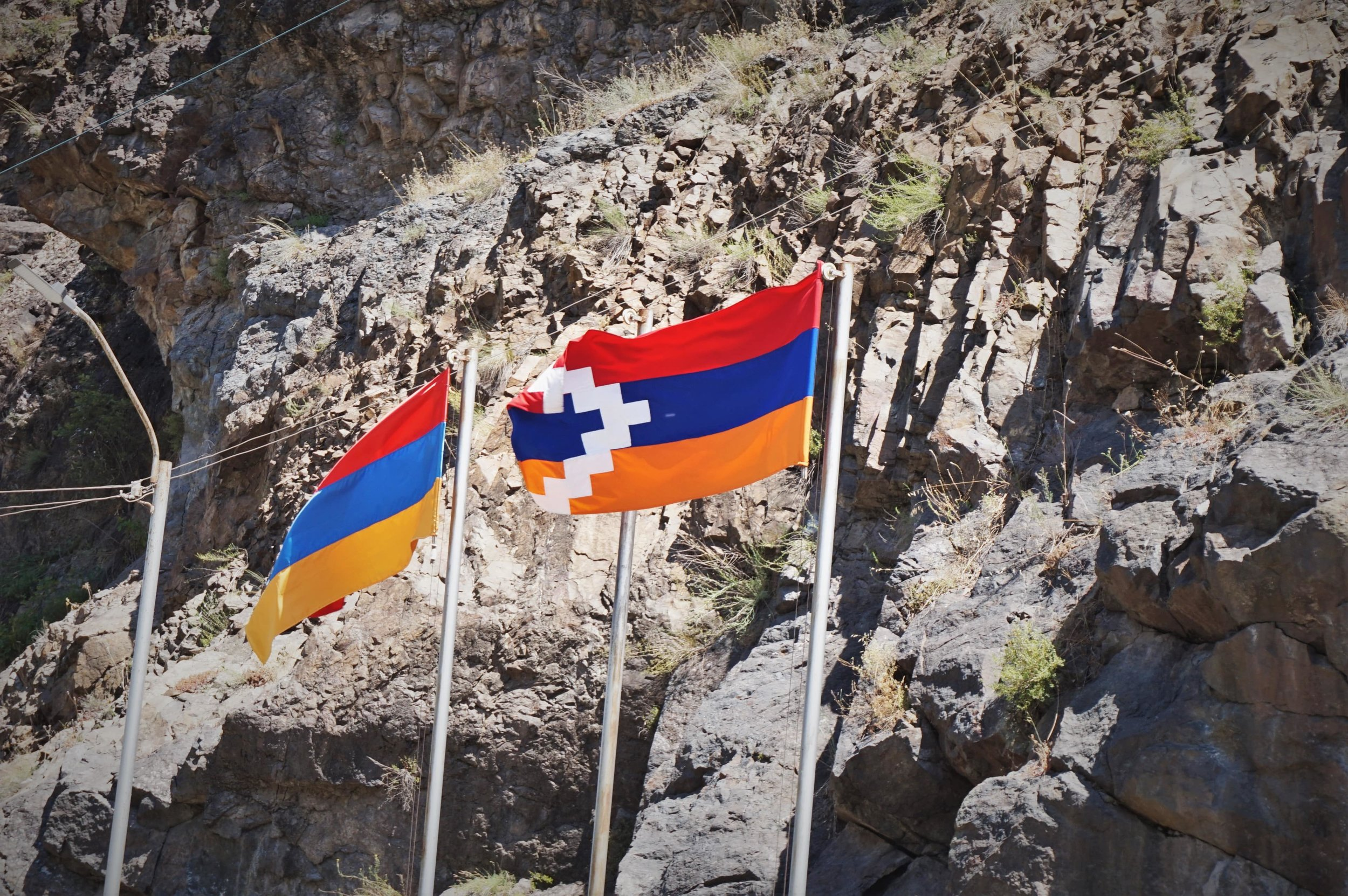 Things to do in the Republic of Artsakh. See the official flag of Artsakh (Nagorno-Karabakh)