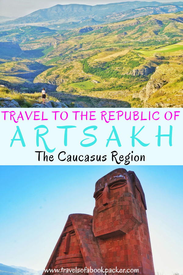 Practical information about traveling to Nagorno-Karabakh/ the Republic of Arstakh an unrecognised republic between Armenia and Azerbaijan. Includes how to get to Artsakh, things to do and where to stay. #Artsakh #republicofartsakh #nagornokarabakh #Armenia #Caucasus #travel