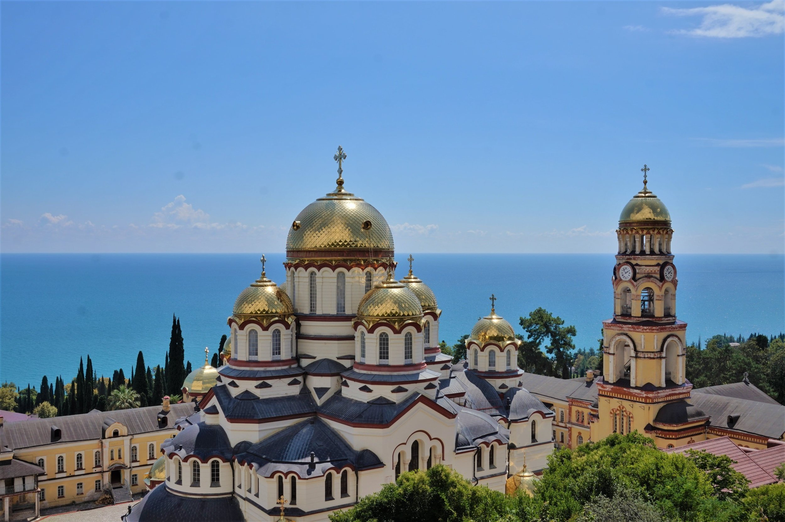 The monastery in Novy Afon is the biggest attraction to visit when you travel to Abkhazia.