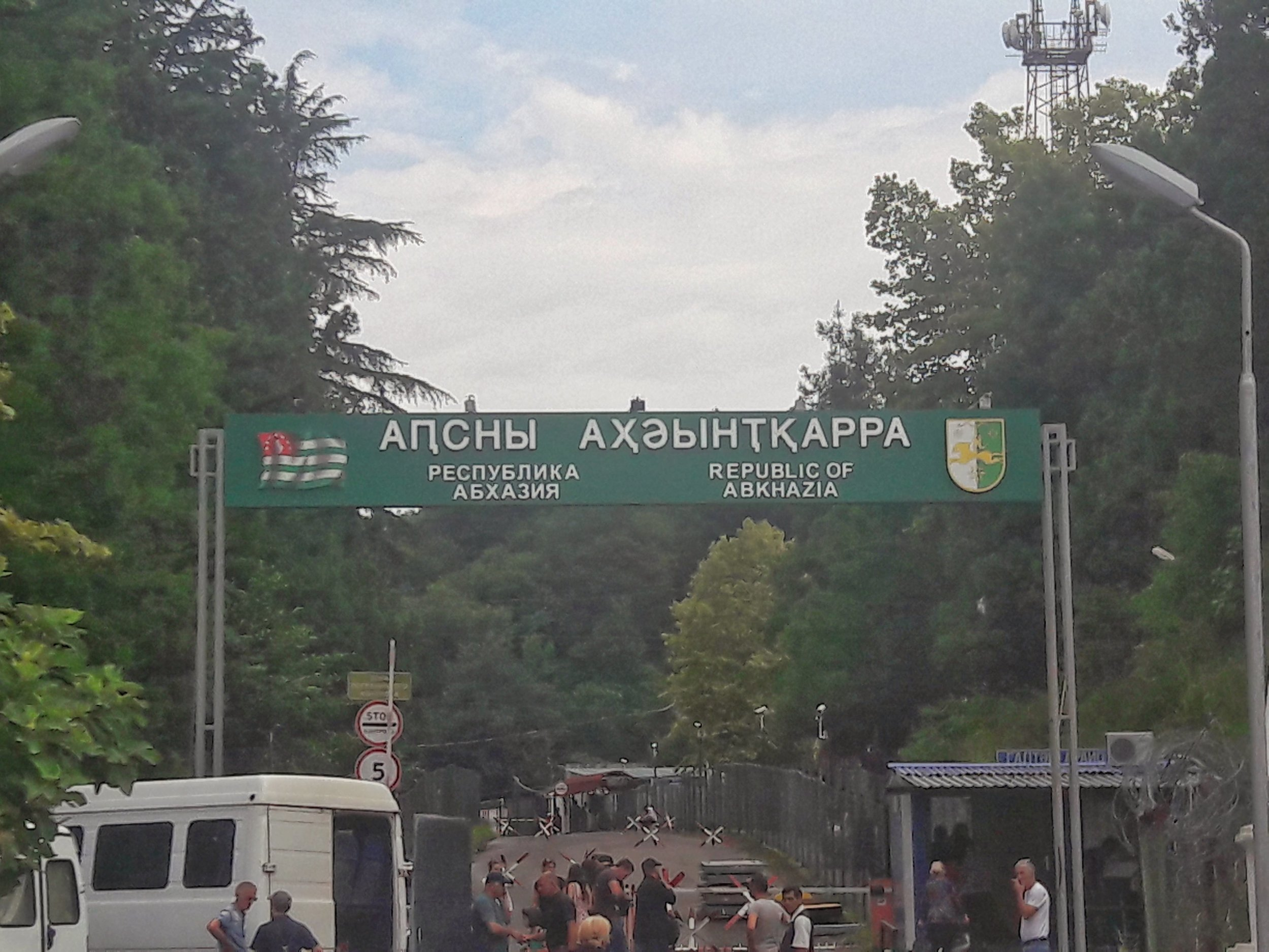 Border crossing into Abkhazia can take a bit longer but is worth the afford to travel to Abkhazia.