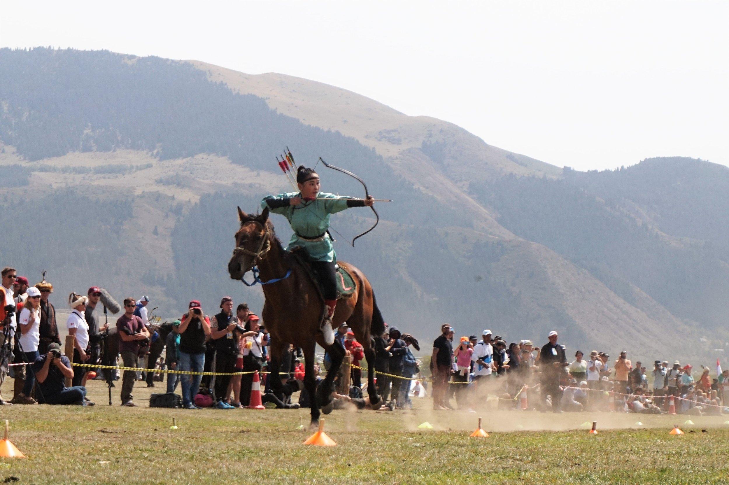 horseback archery kyrgyzstan