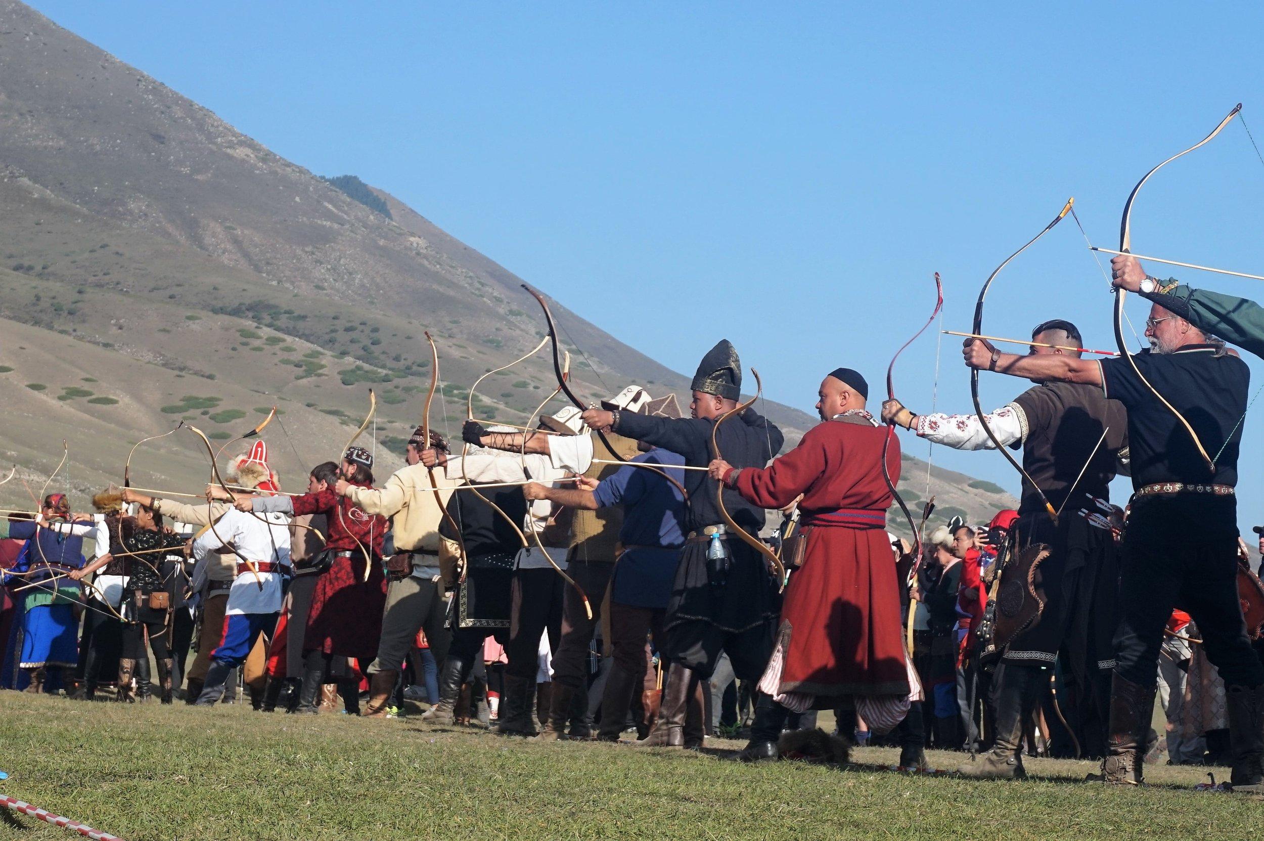 archery world nomad games