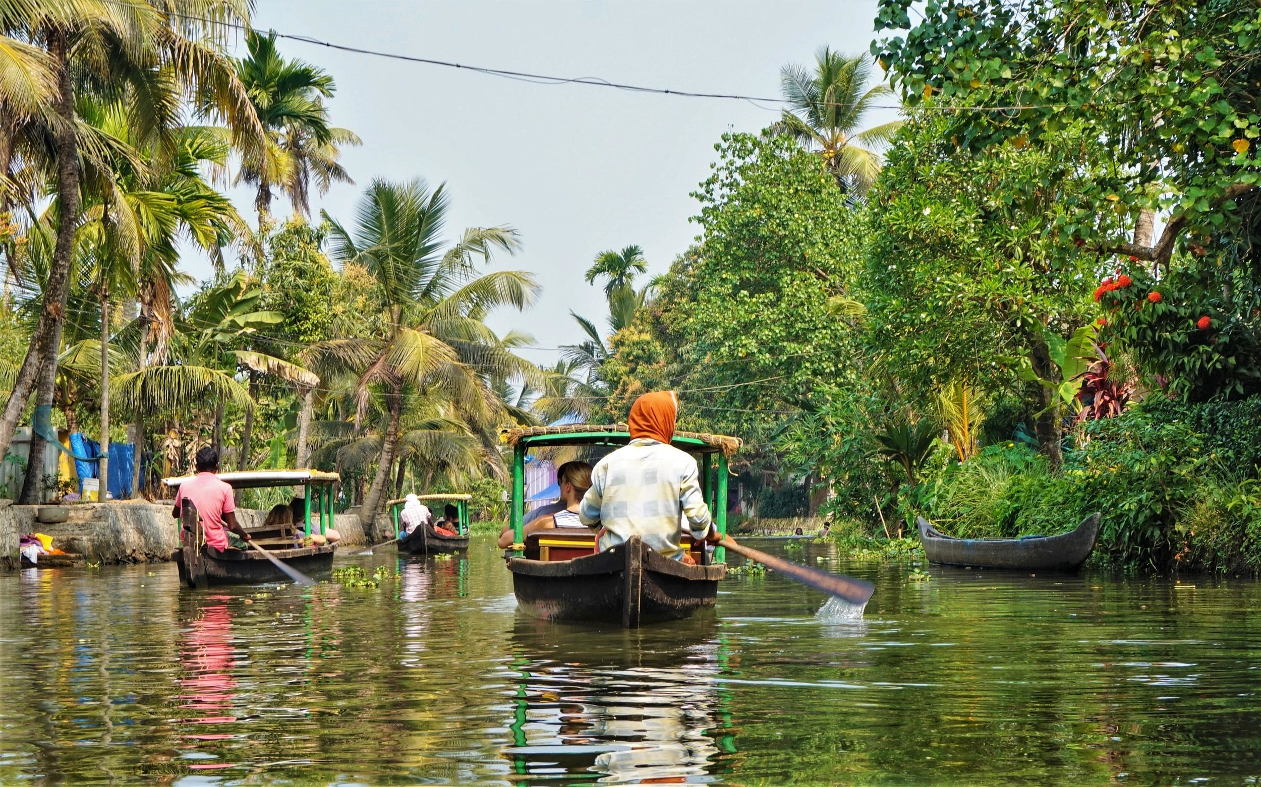 The best Alleppey backwaters tour is the Canoe Kerala backwaters tour! Backwaters of Kerala!