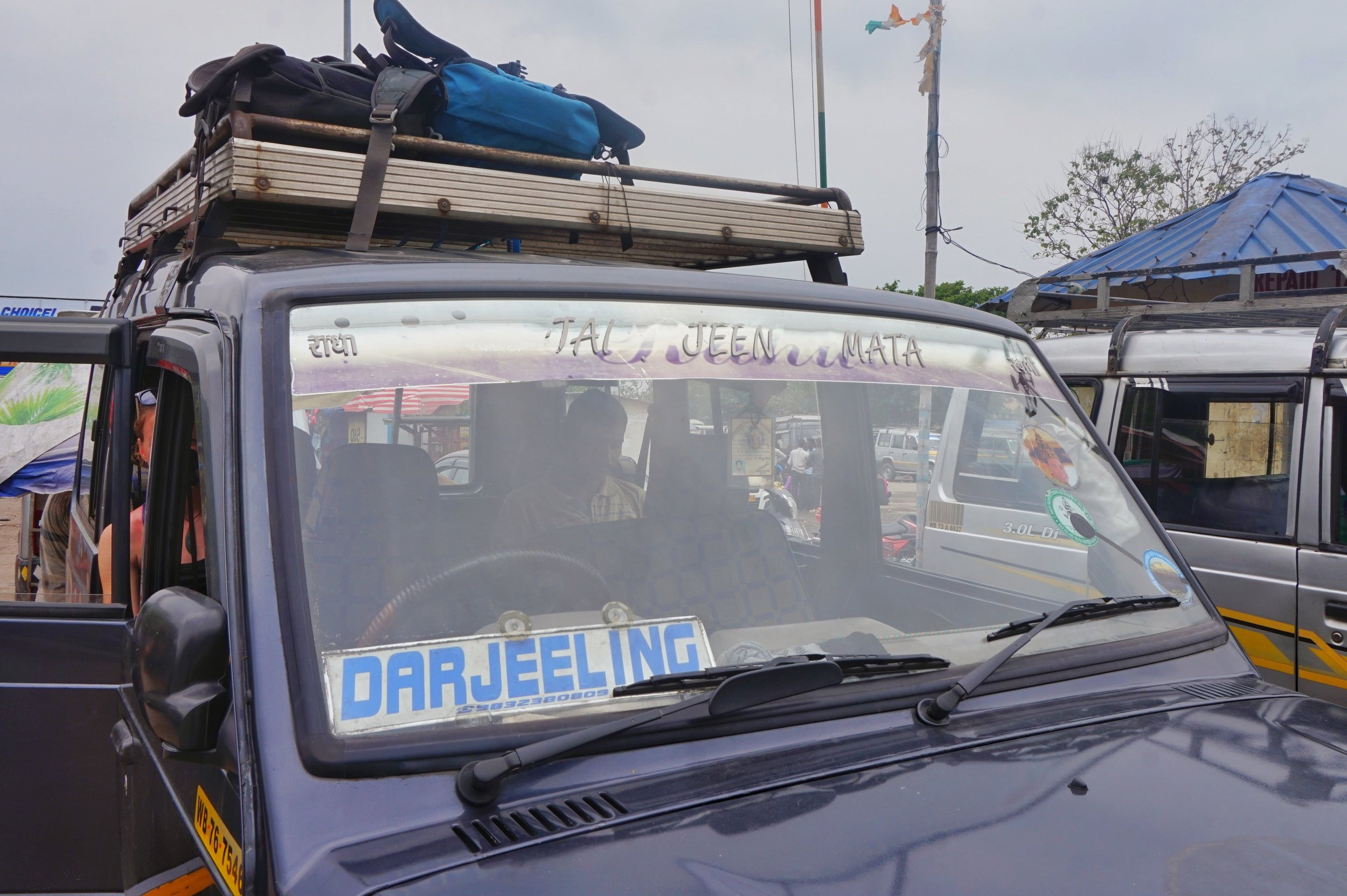 Shared jeeps will be your choice of transportation from Ilam to Darjeeling with public transport.