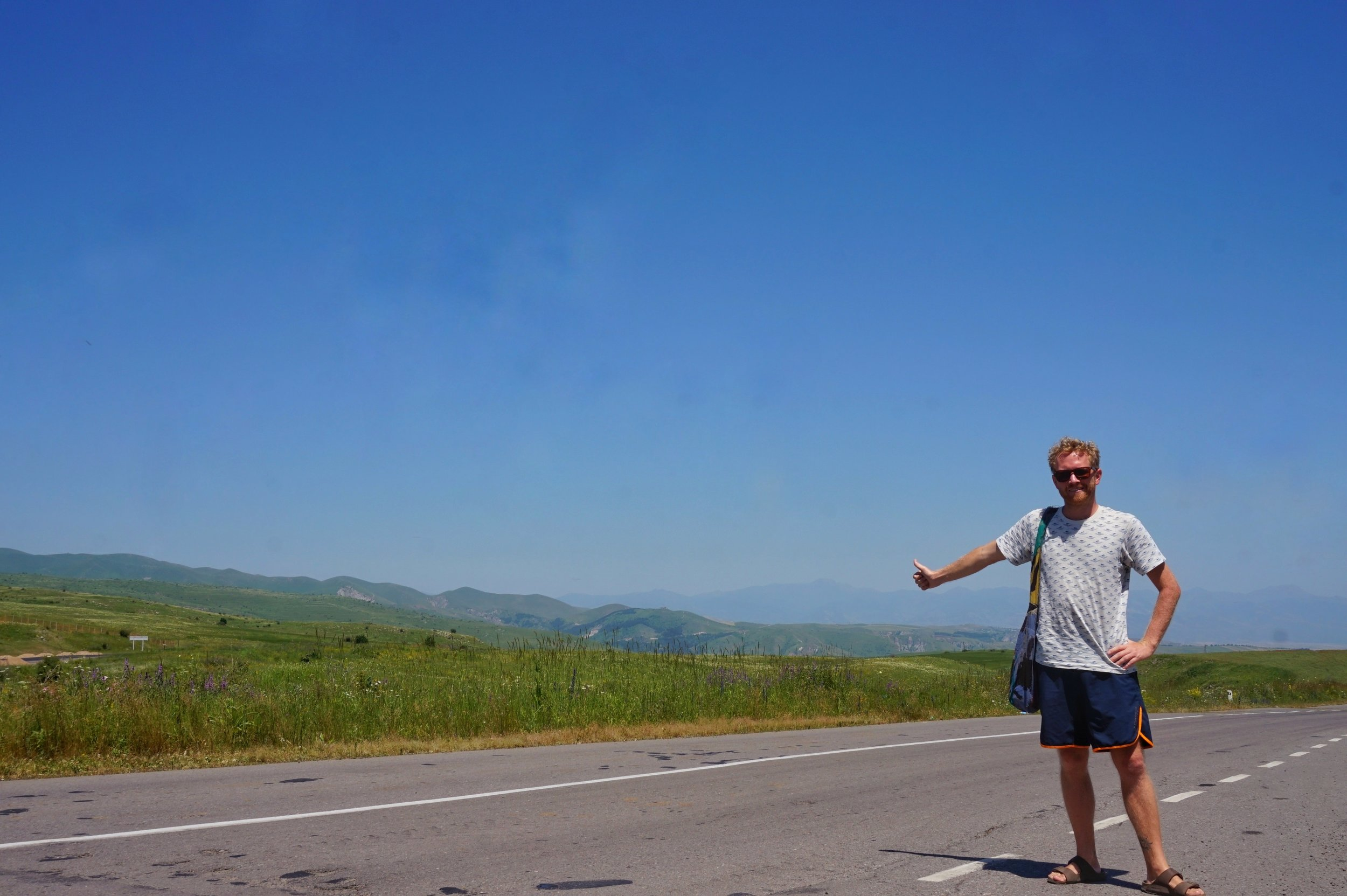 Hitchhiking in Europe is a big part of staying in your budget when travelling Europe on a budget.