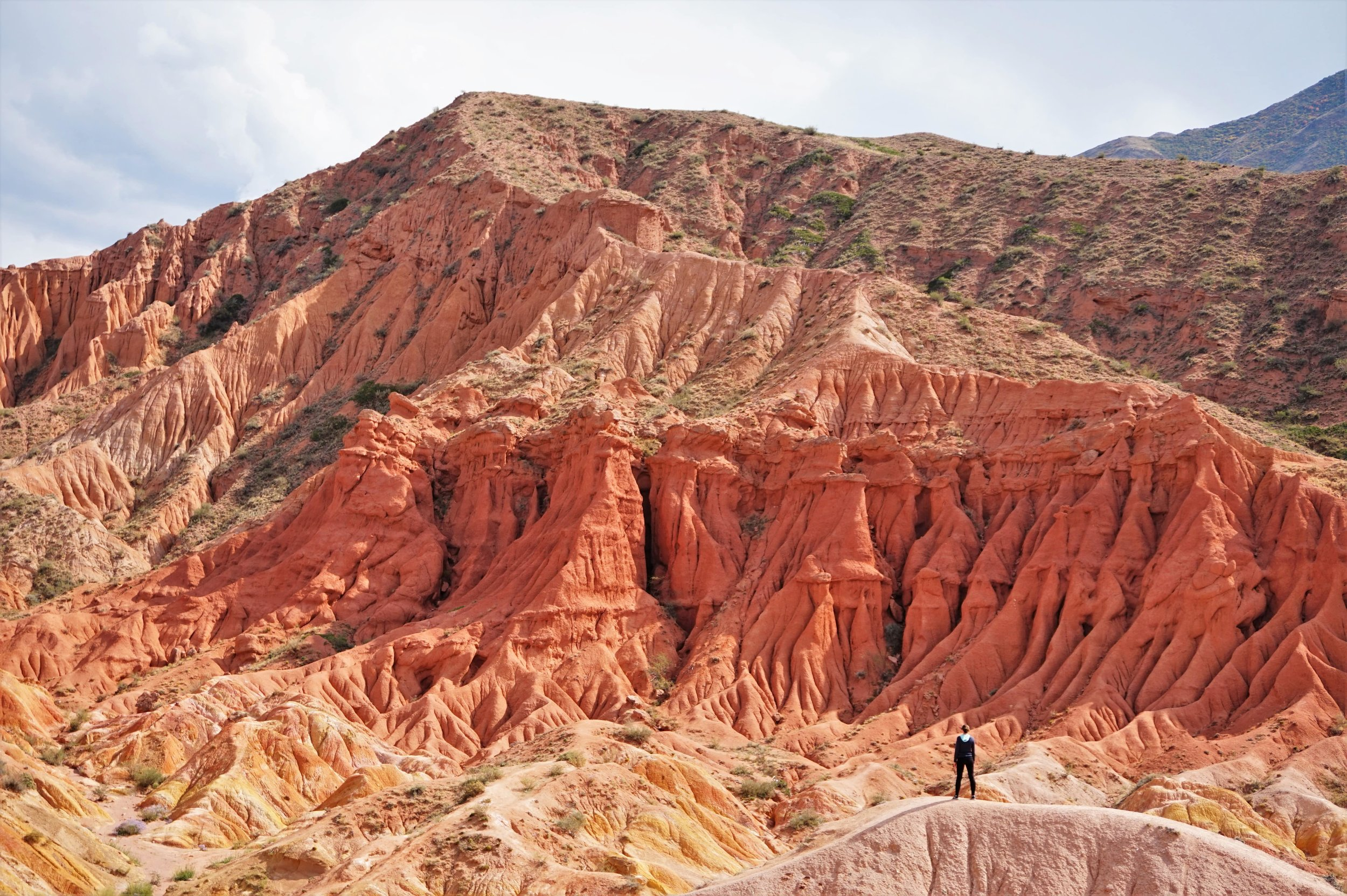 To visit the fairy tale canyon is one of the most awesome things to do in Kyrgyzstan! Should be on everybody's bucket list of things to do in Kyrgyzstan.