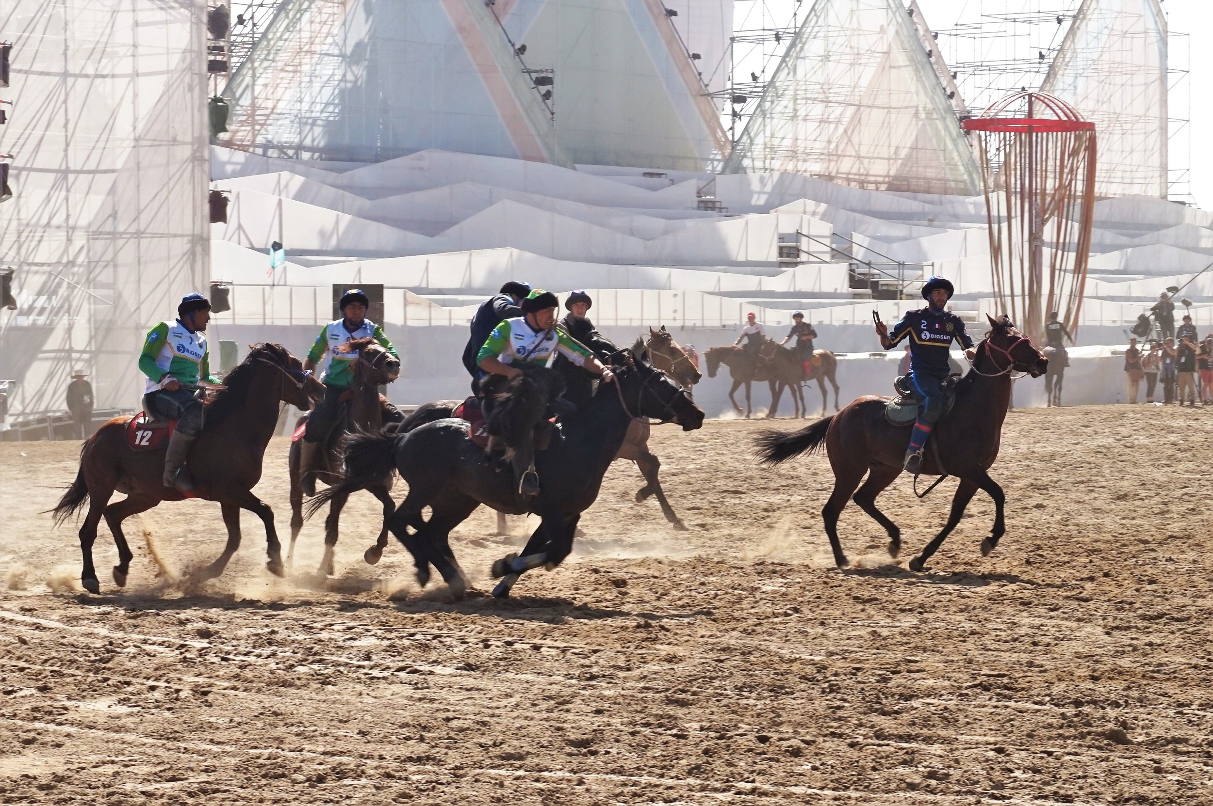 Kok-Boru is a very strange thing to watch from a western perspective, but it is a very traditional and popular sport in this region of the world and definitely one of the most interesting things to see in Kyrgyzstan!