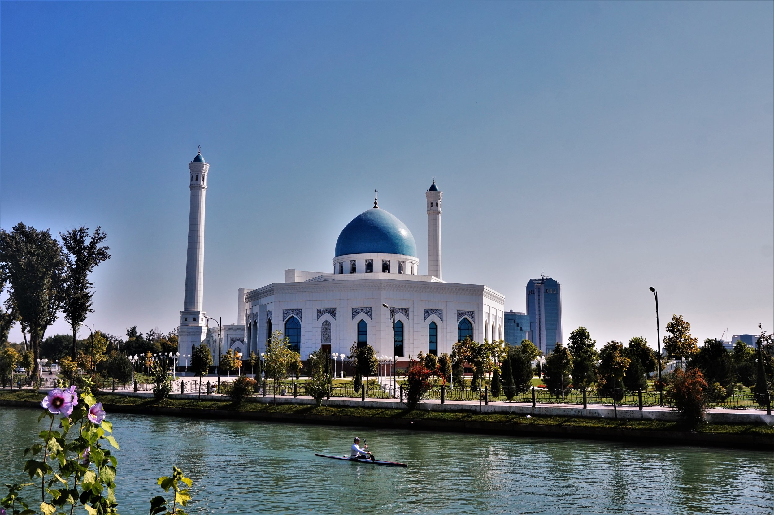 Go kayaking is one of the best things to do in Tashkent, Uzbekistan.