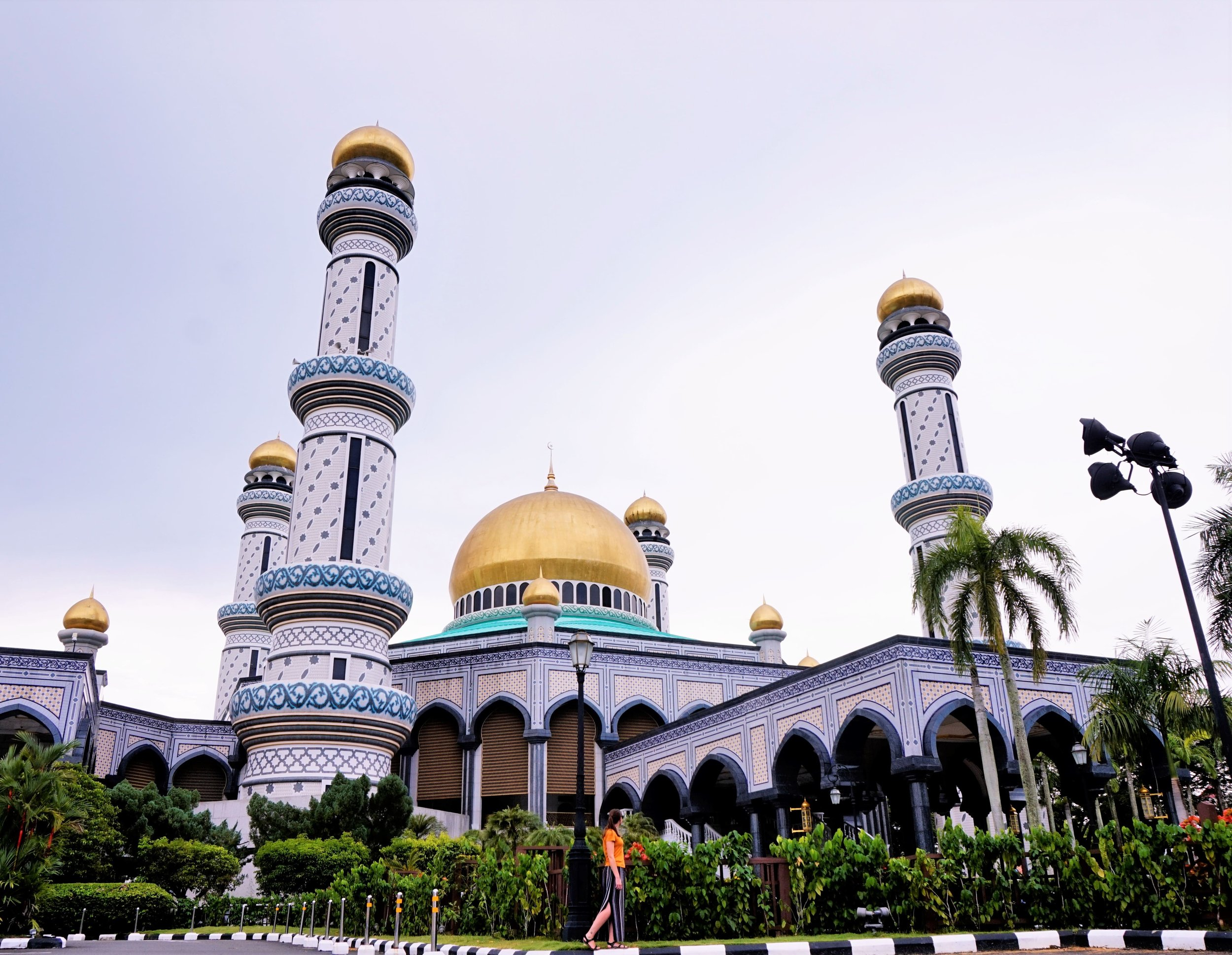 Seeing Jame'Asr Hassanila Bolkiah Mosque is one of the best things to see in Brunei