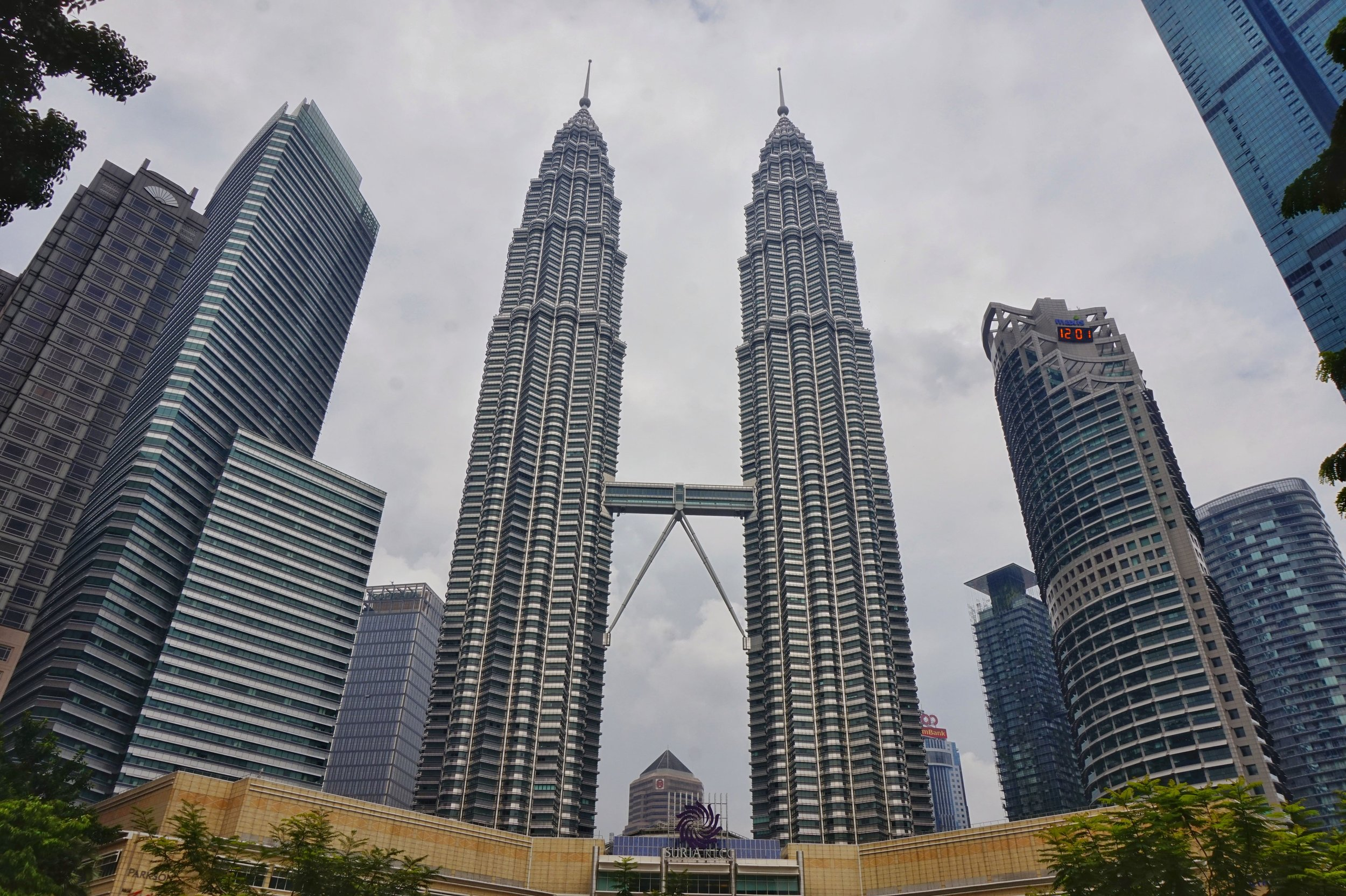 The Petronas Towers are the best thing to see on your 2 day Kuala Lumpur itinerary.