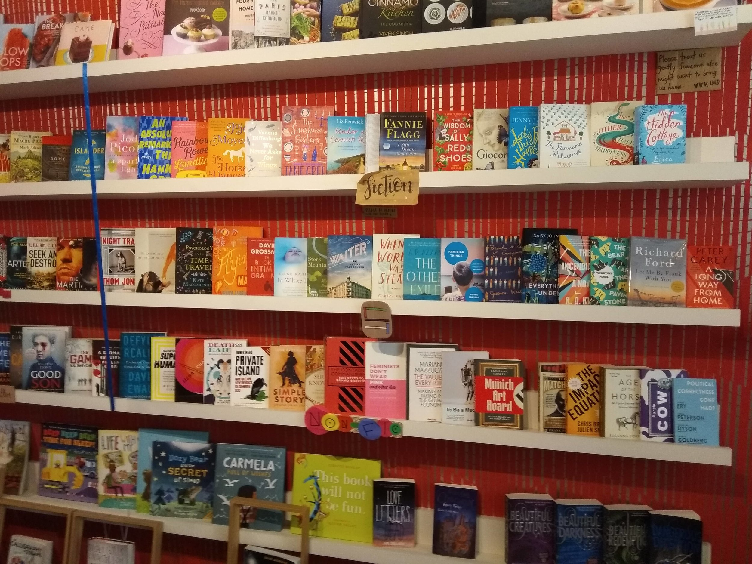 One of the best things to do in Singapore if you like books!