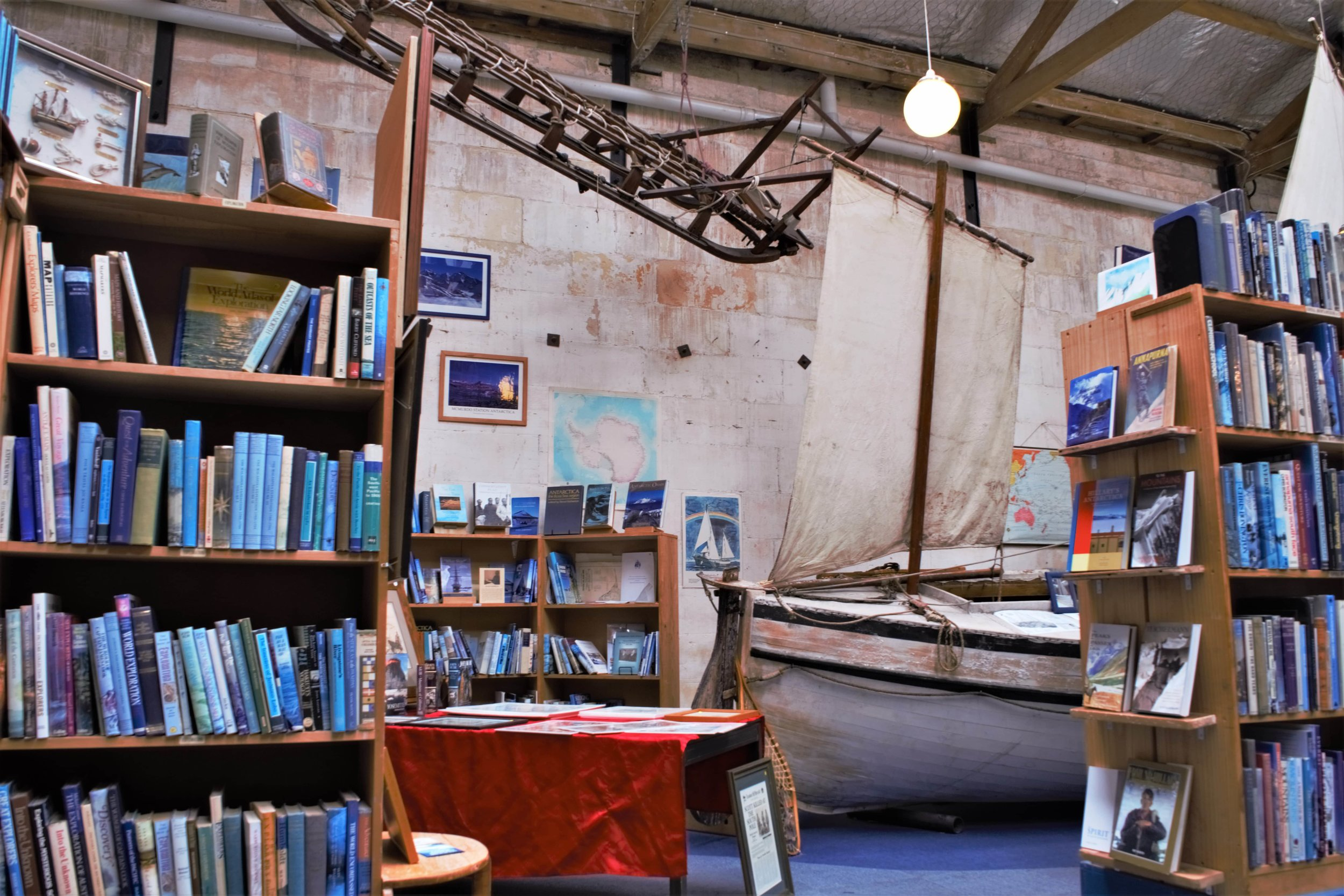 Amazing book shop in the hart of the Oamaru historic center. A Book Lover's Guide to the South Island, New Zealand. Adventure Books.
