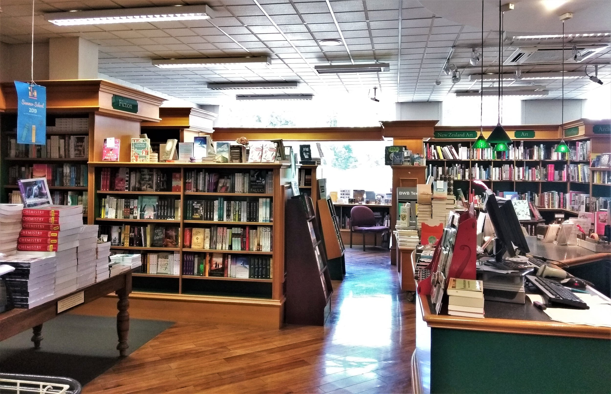 The University Book Shop is an institution in Duneden. A Book Lover's Guide to the South Island, New Zealand